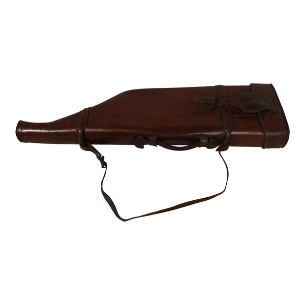 Antique Hard Leather Gun Case 1890s