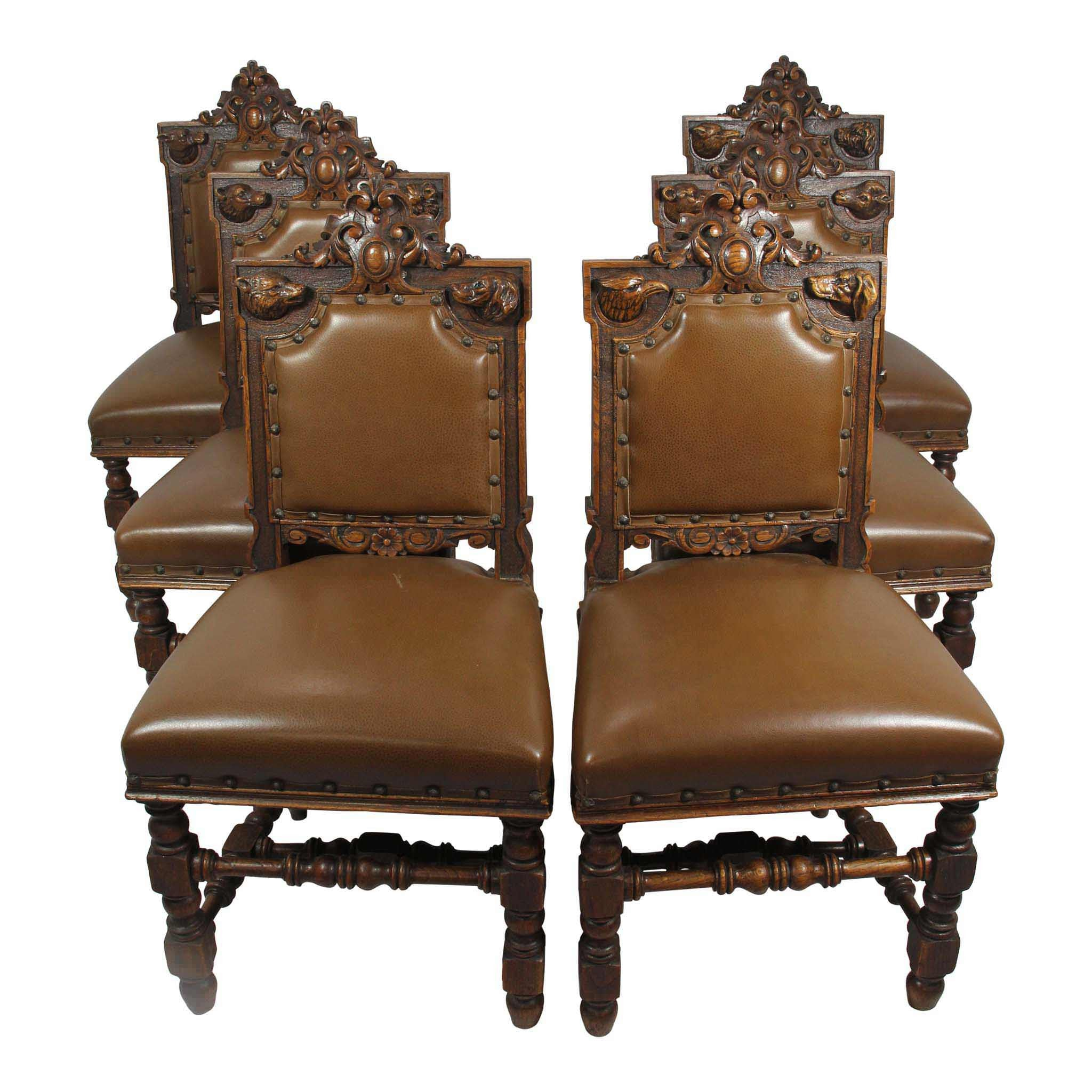 Black Forest Chairs Set/6