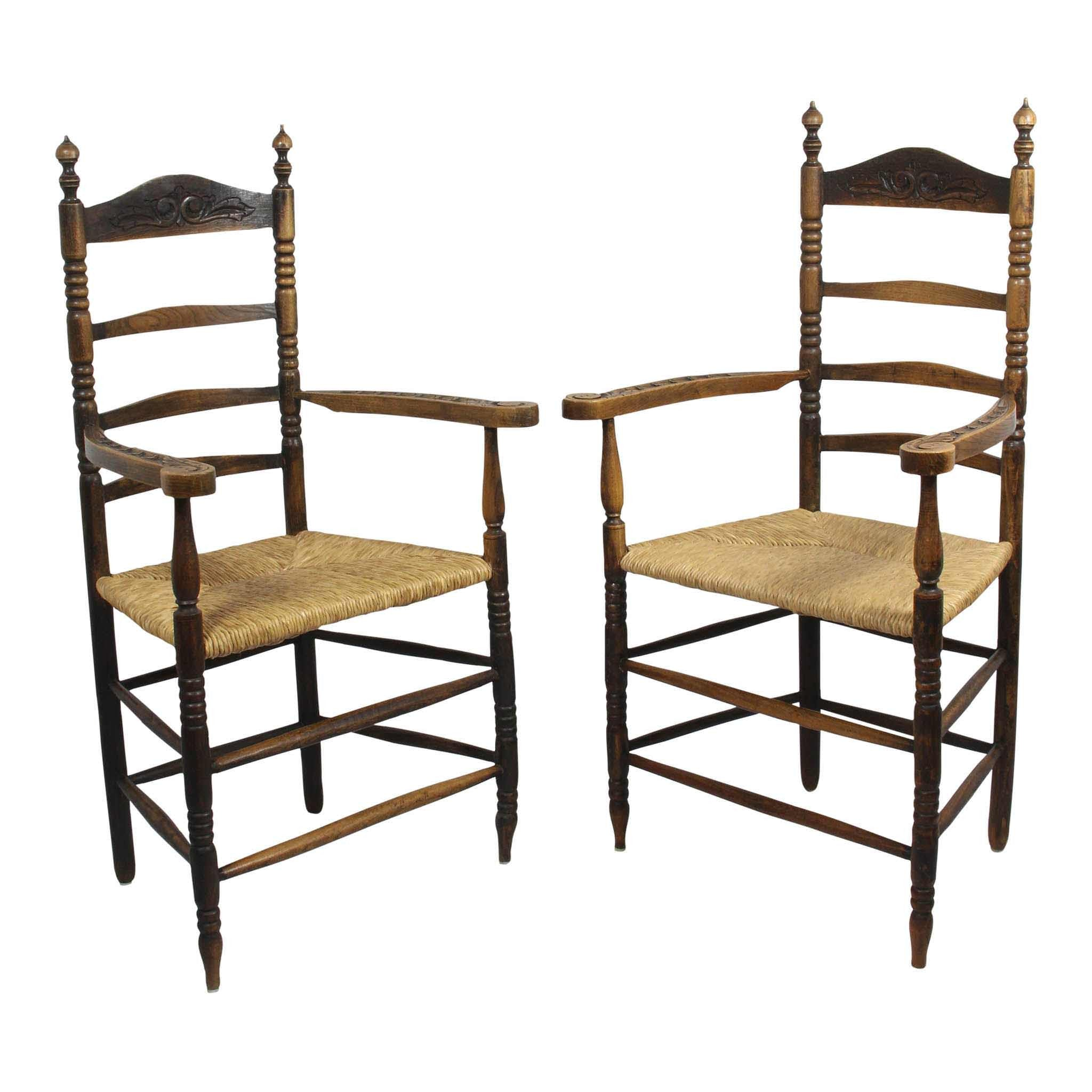 Rush Armchairs Set of Two
