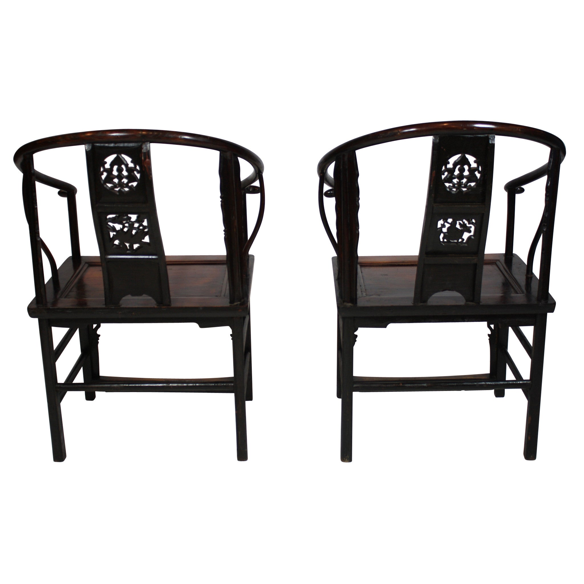 ski-country-antiques - Chinese Armchairs - Set of 2