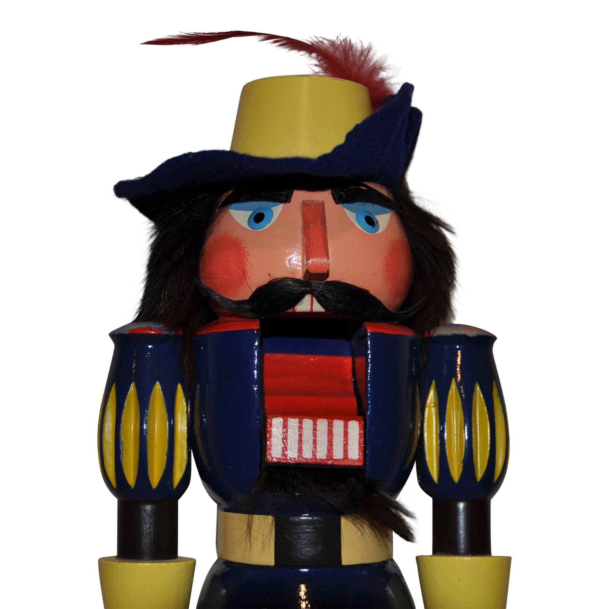German Wooden Nutcracker Musketeer
