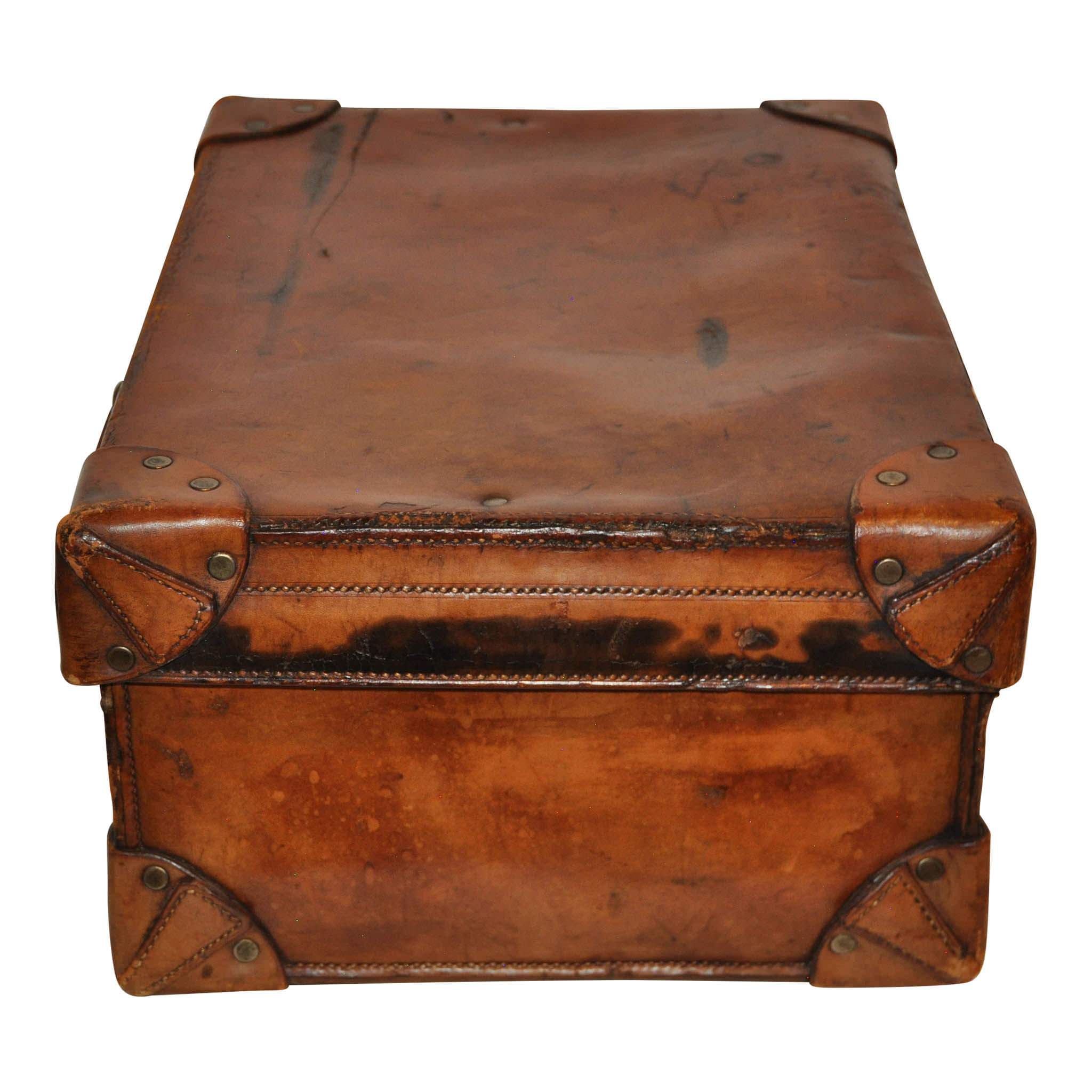 Men's Leather Toiletry Travel Valise