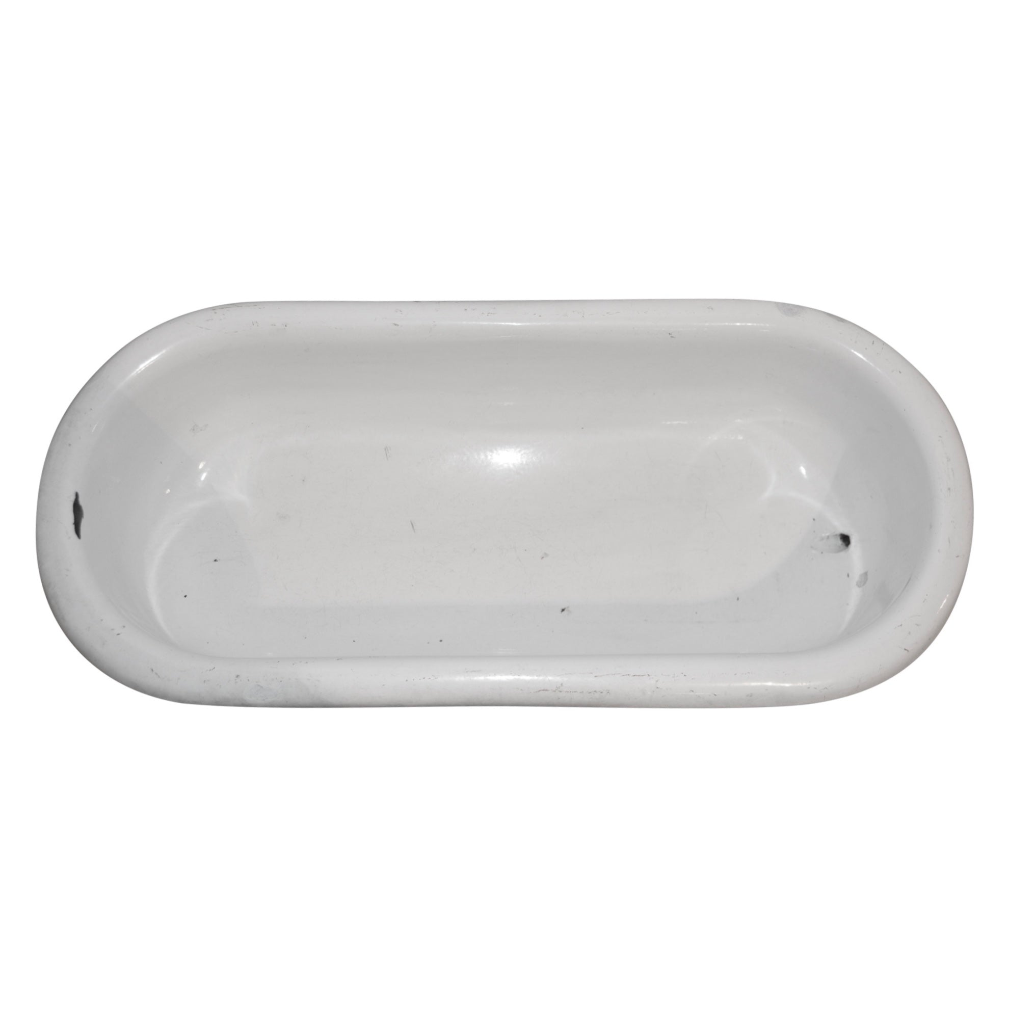 Enamel Bathtub with Stand