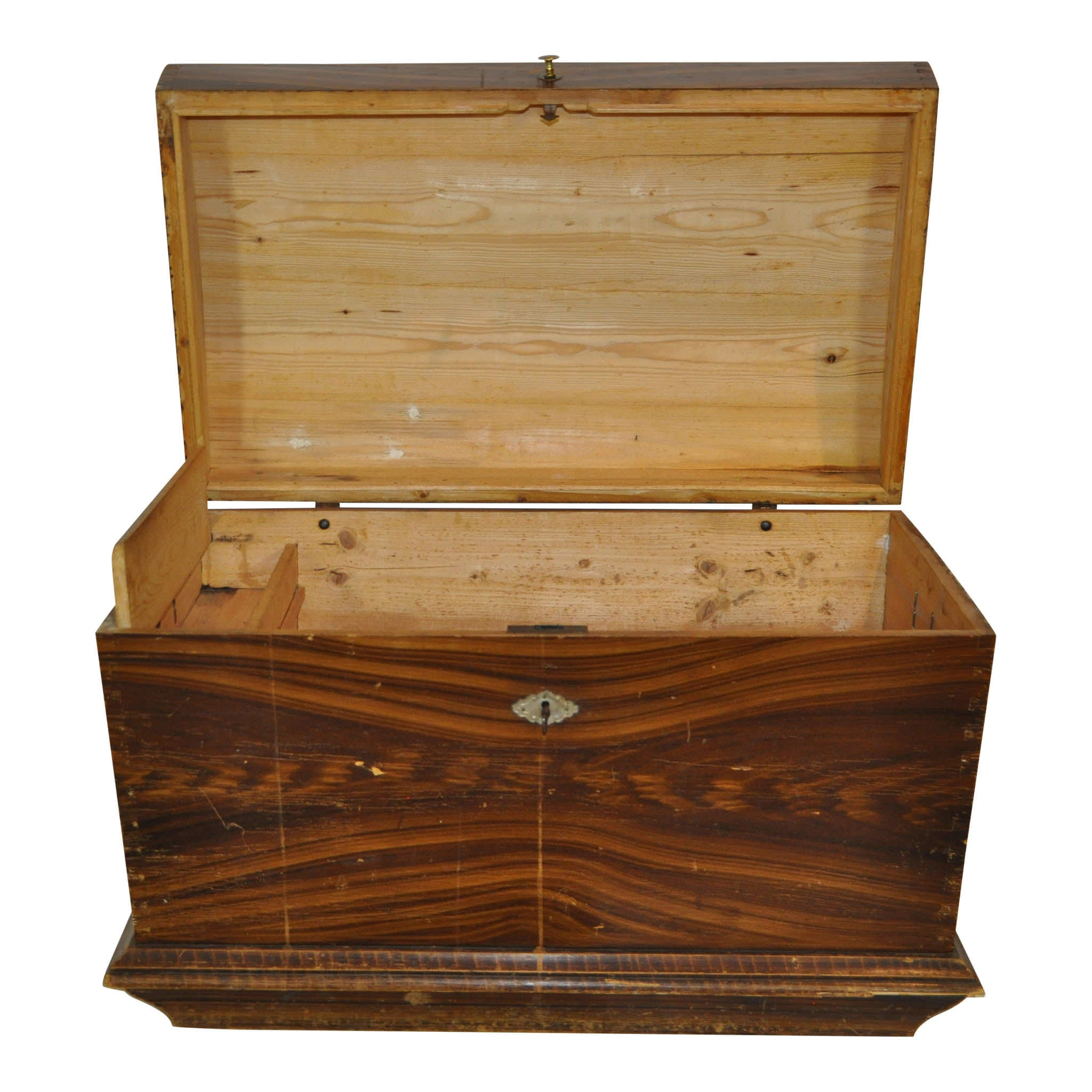 Trunk with Curved Top