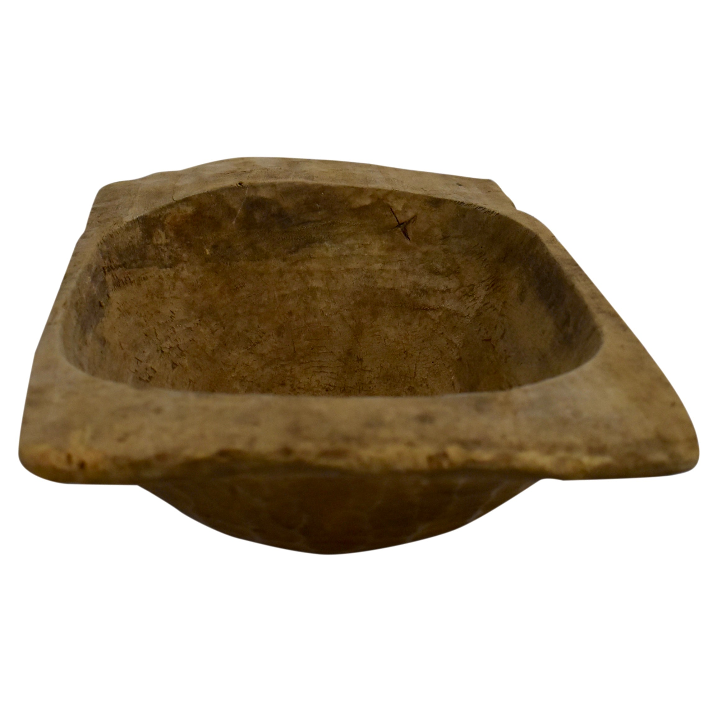 Hand-Hewn Dough Bowl