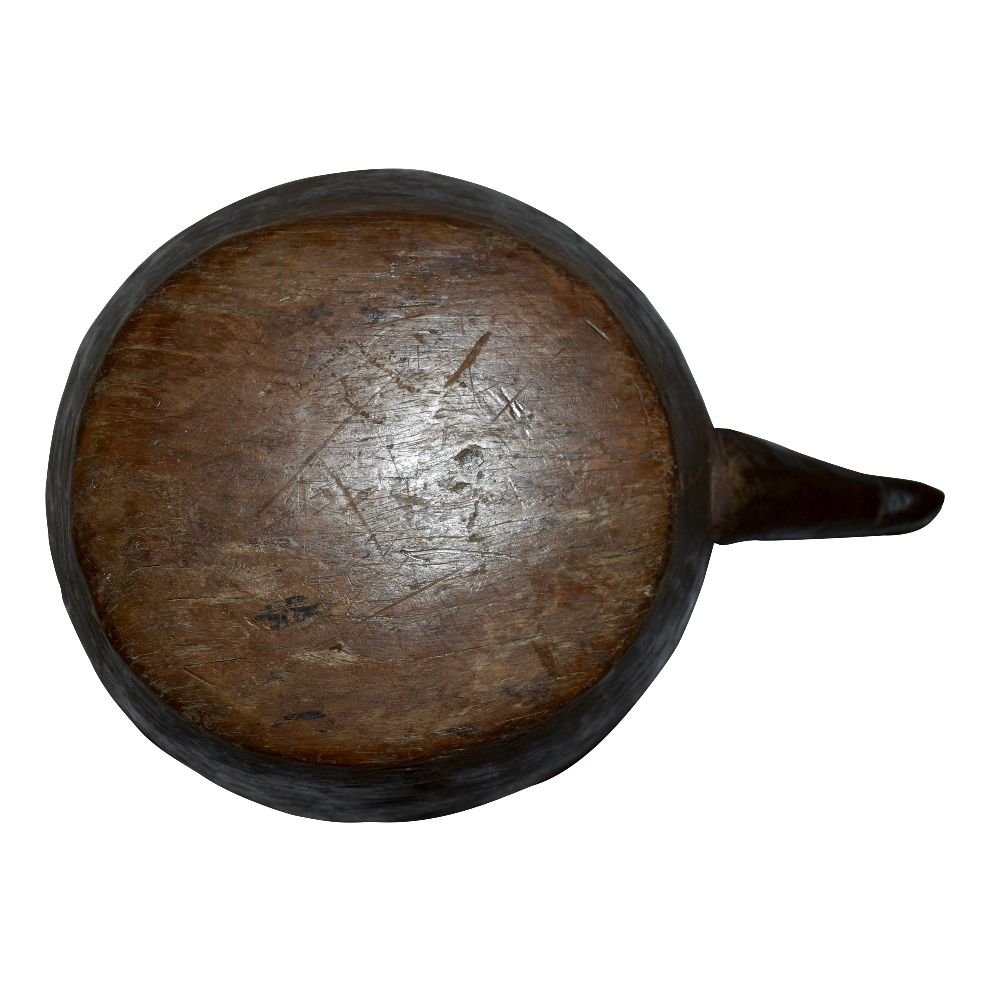 Teak Bowl with Handle