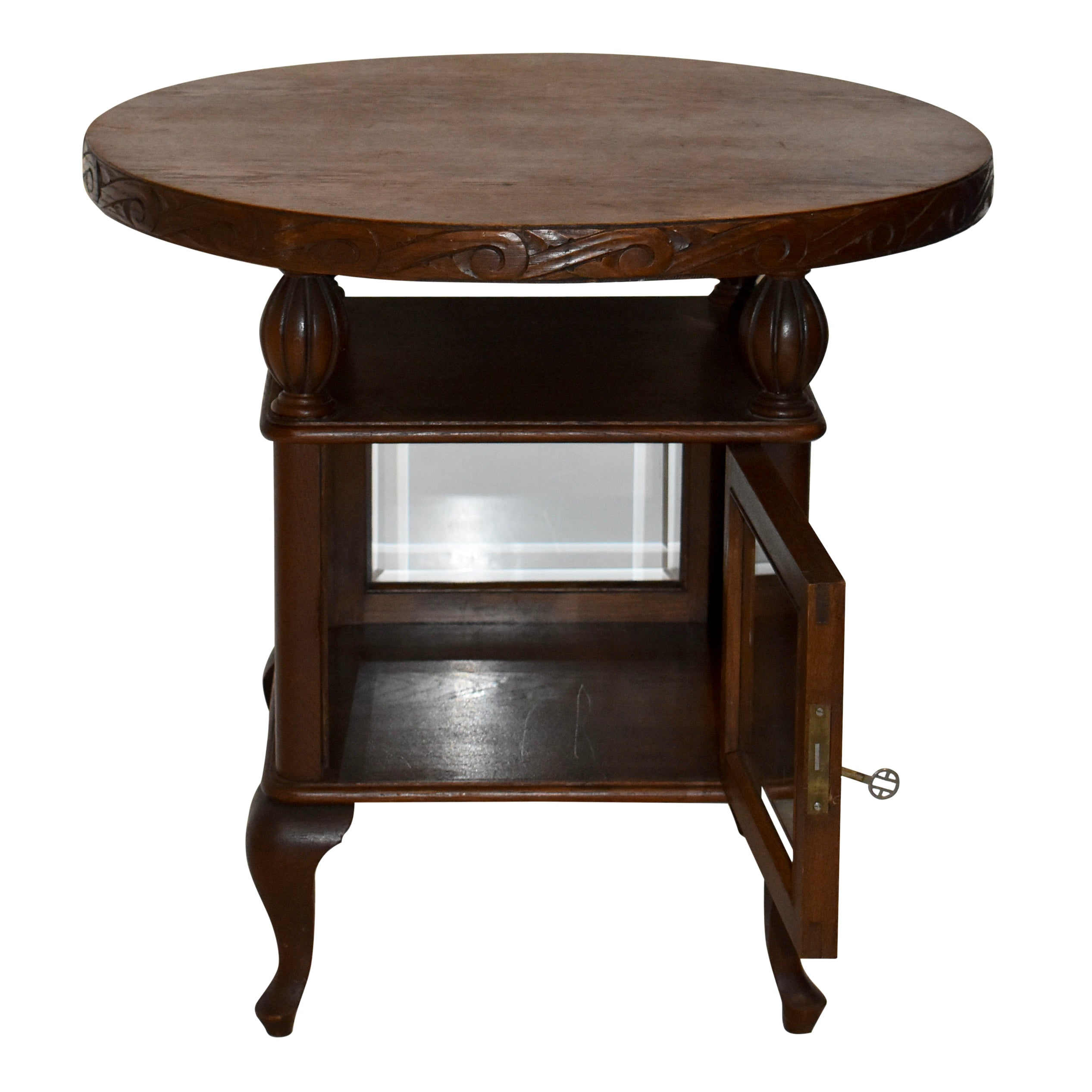 Tea Cabinet End Table