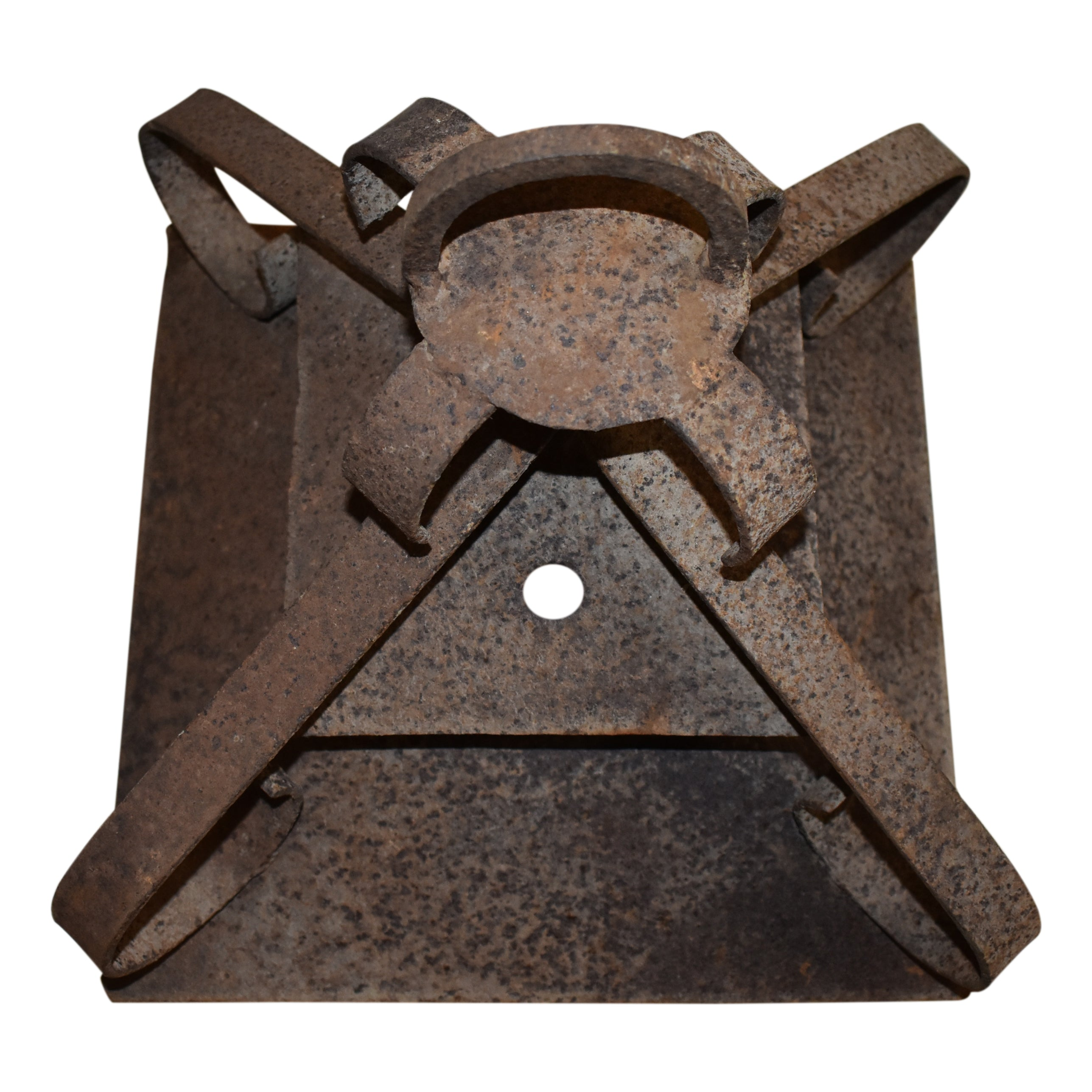 Iron Lantern with Wall Bracket