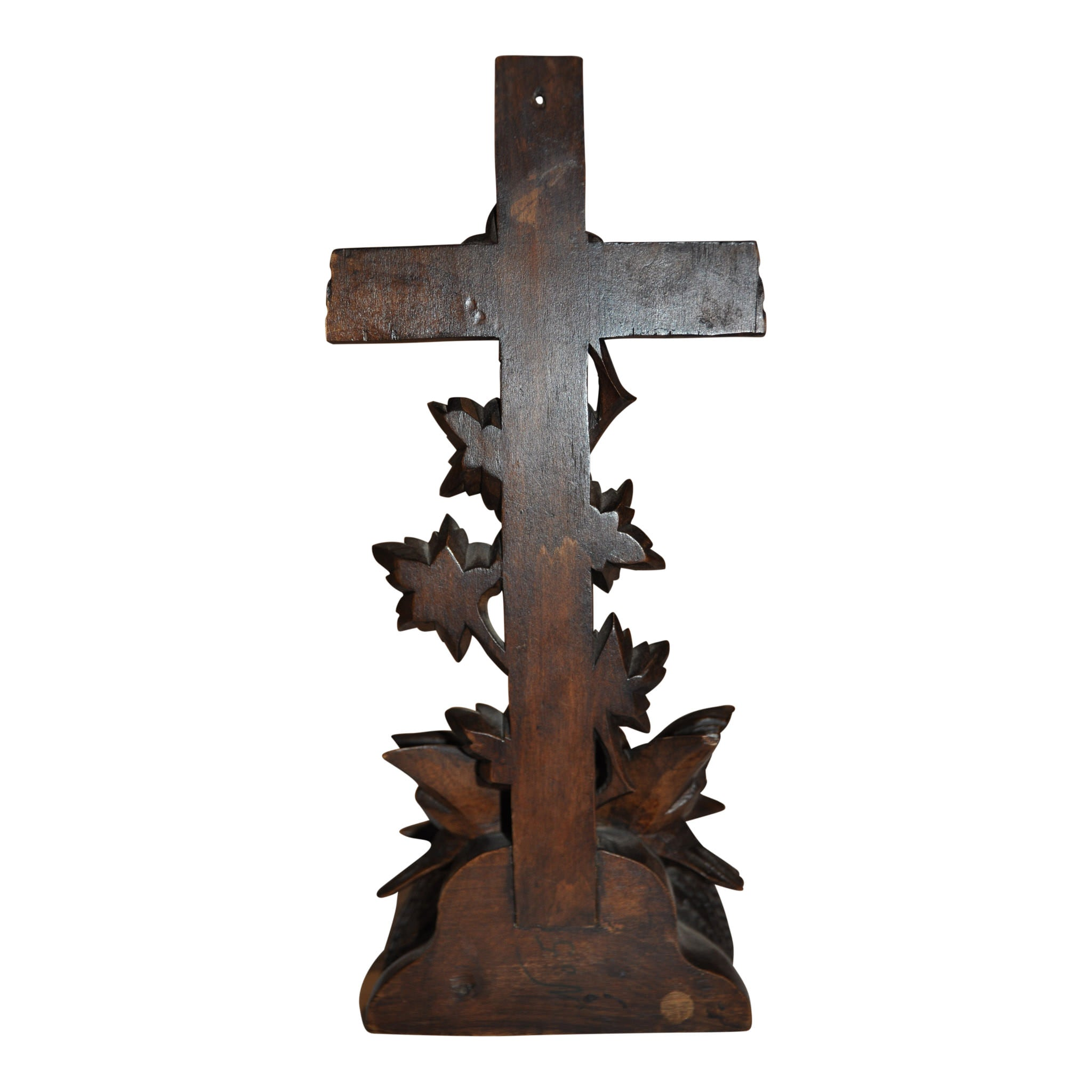 Carved Cross with Birds