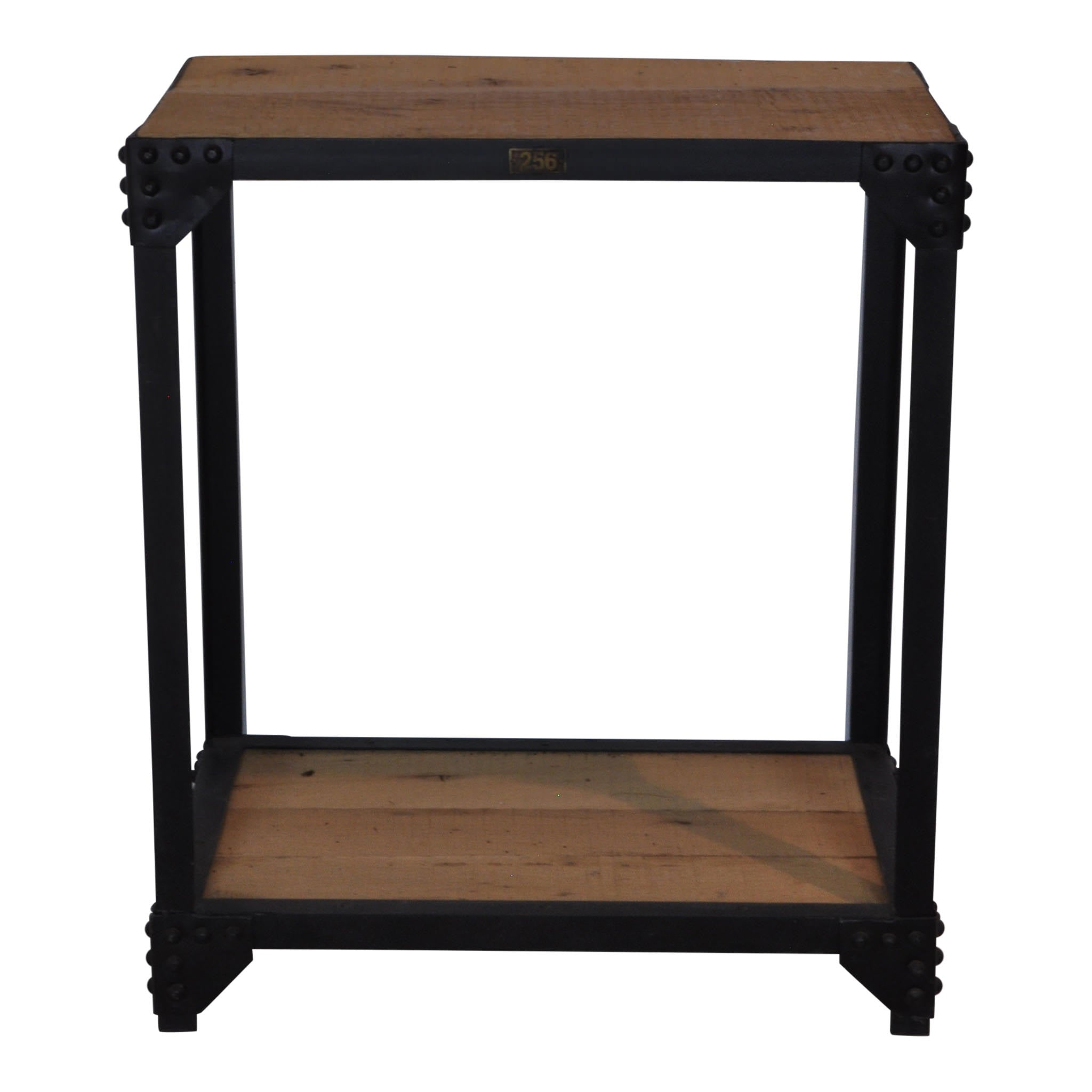 Industrial End Table (1stdibs)