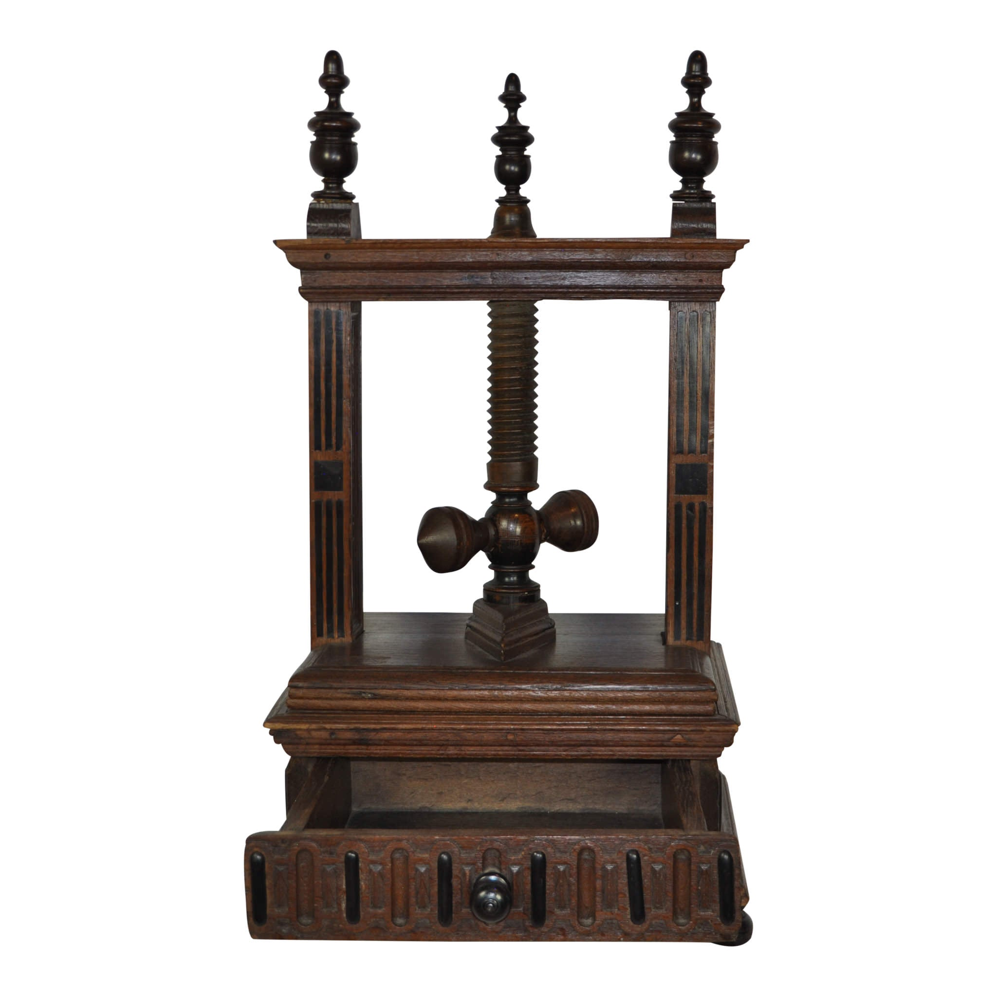 Wooden Screw Linen/Napkin Press
