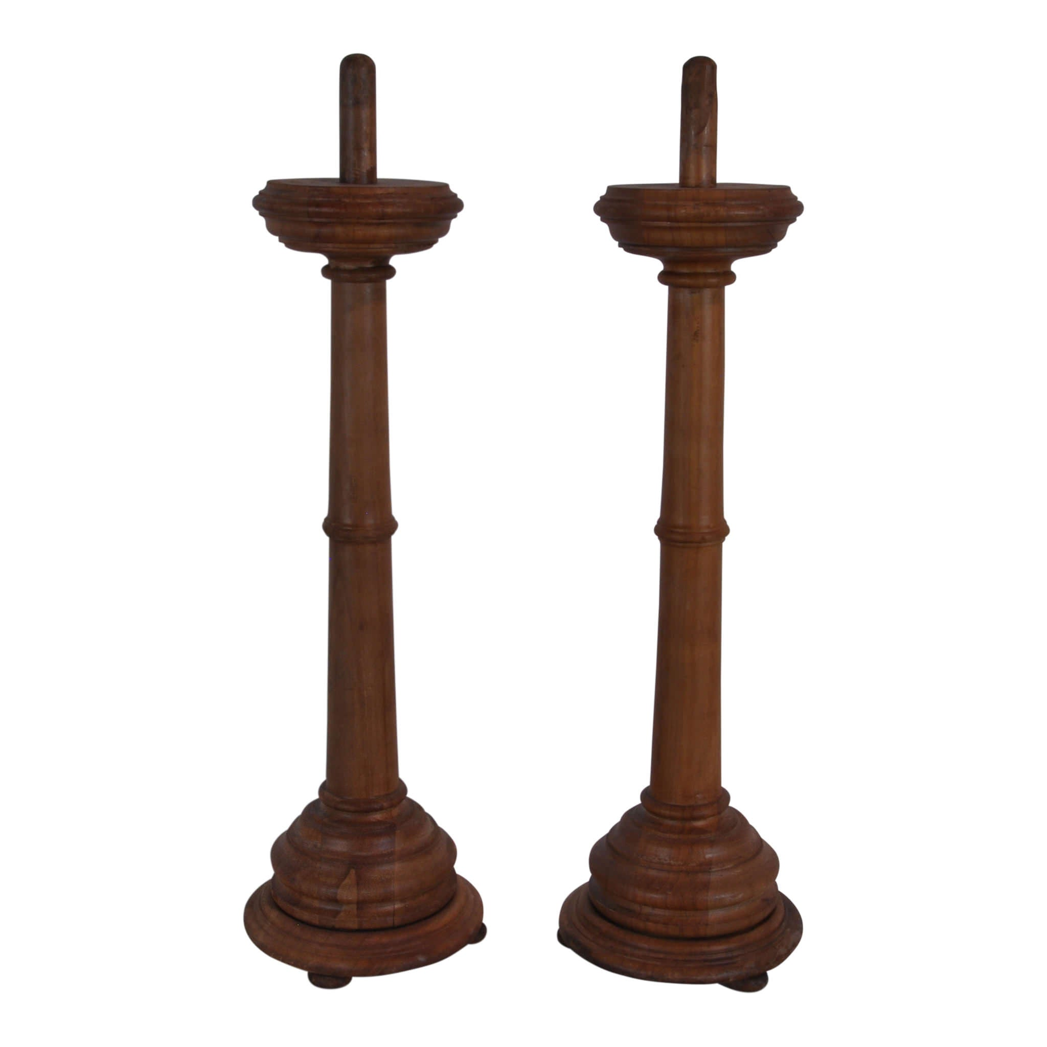 Elm Candlesticks Set/2