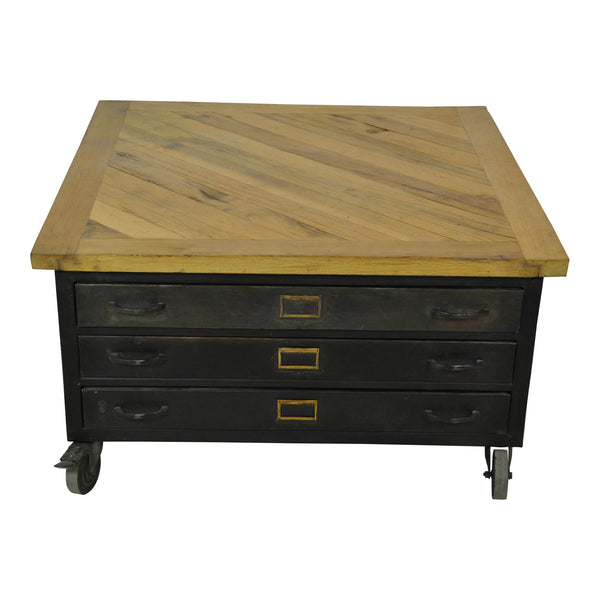 Square File Cabinet Coffee Table