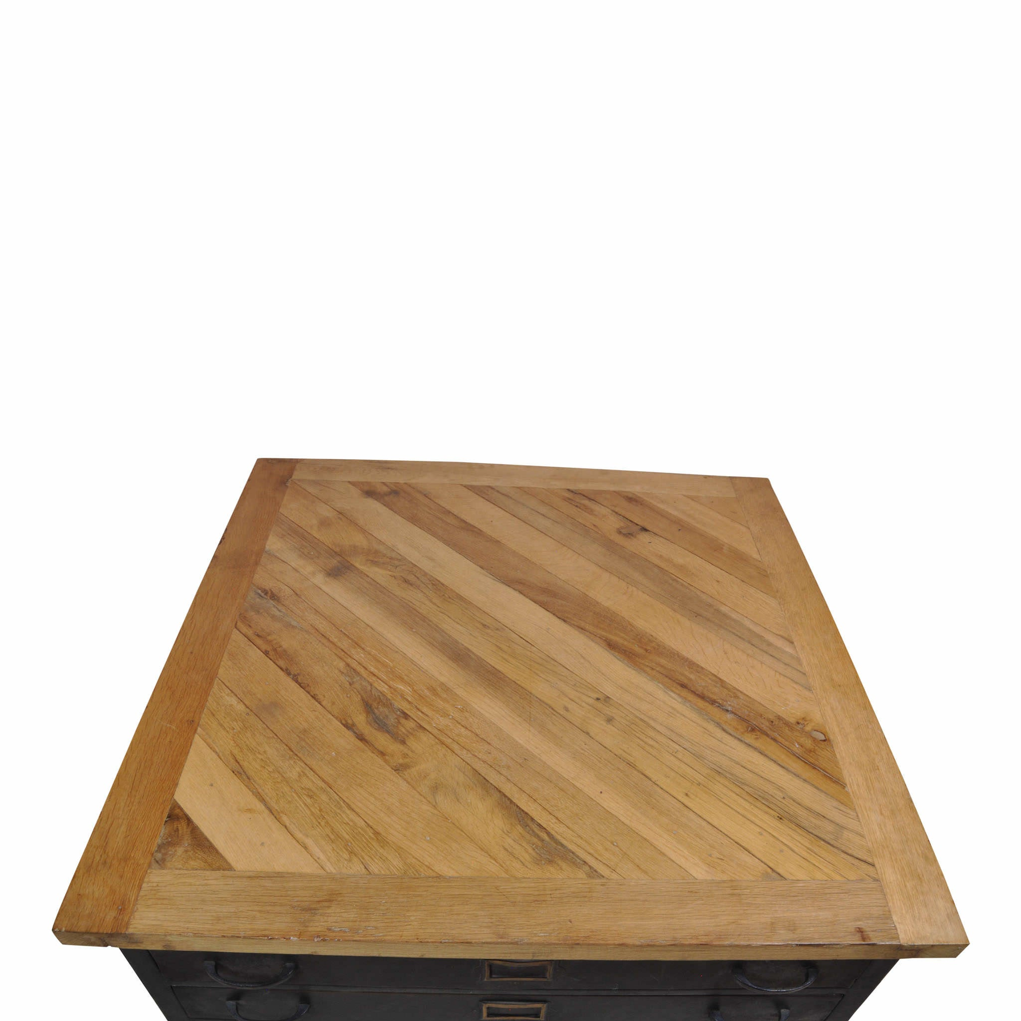 Square File Cabinet Coffee Table (1stdibs)