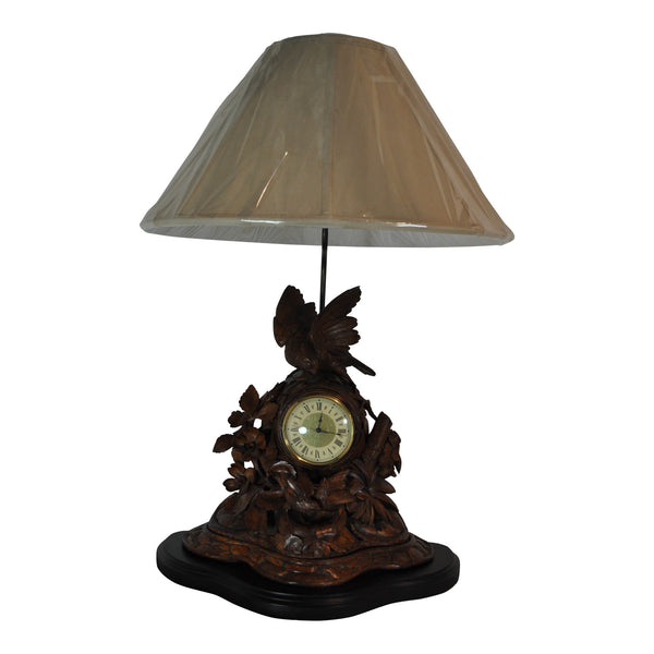 Mantle Clock Lamp