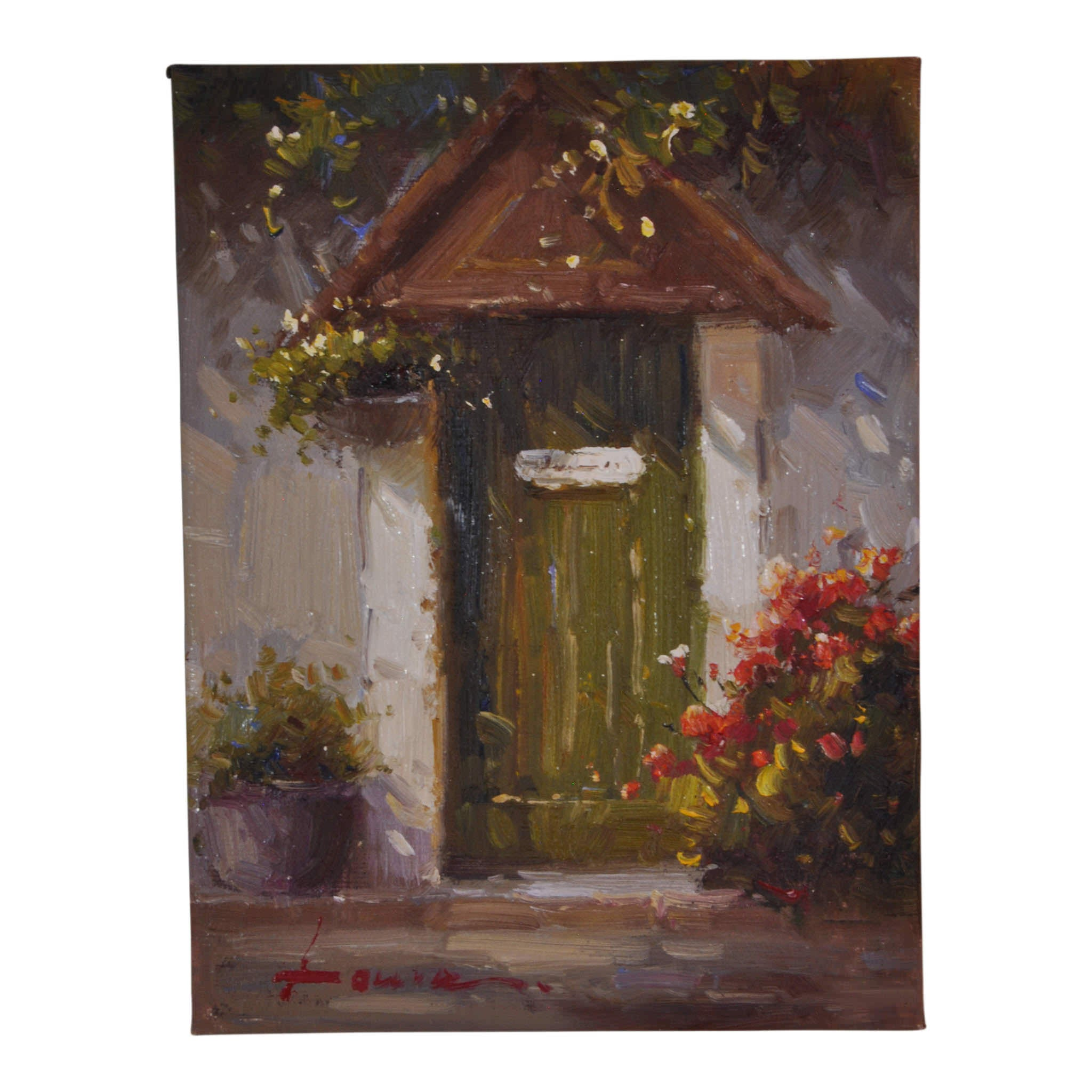 Painting of Door  sc 1 st  Ski Country Antiques & Painting of Door - Ski Country Antiques u0026 Home