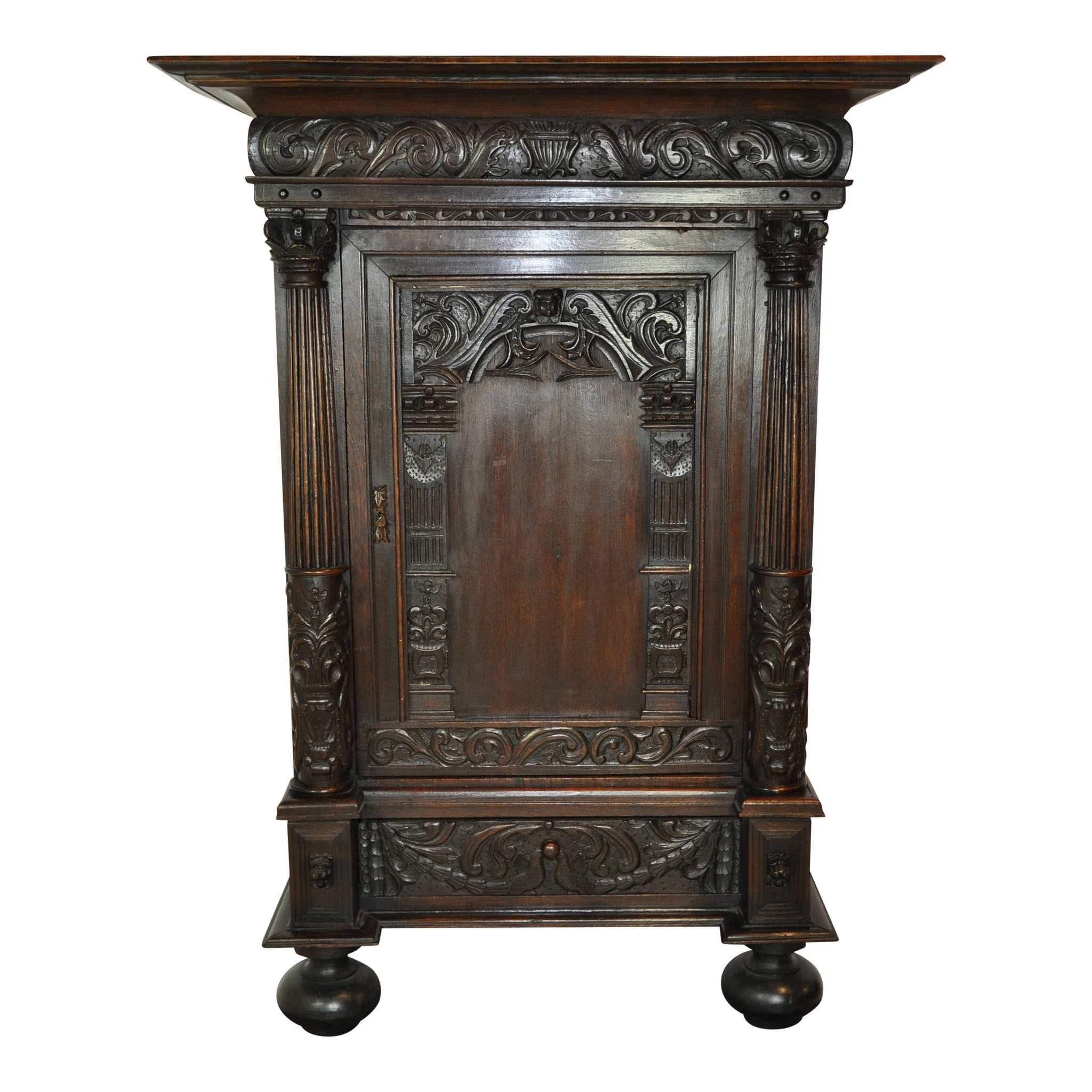 Dutch Wedding Cabinet (1stdibs)