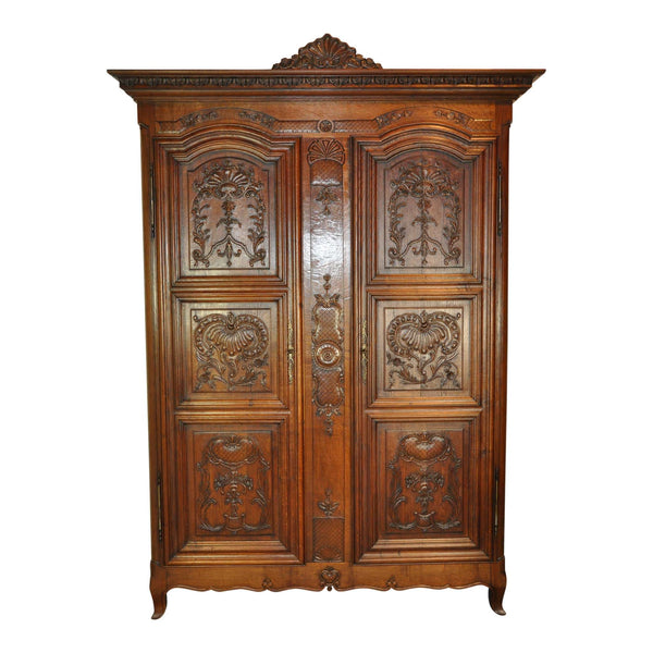 Two Door Louis XV Armoire