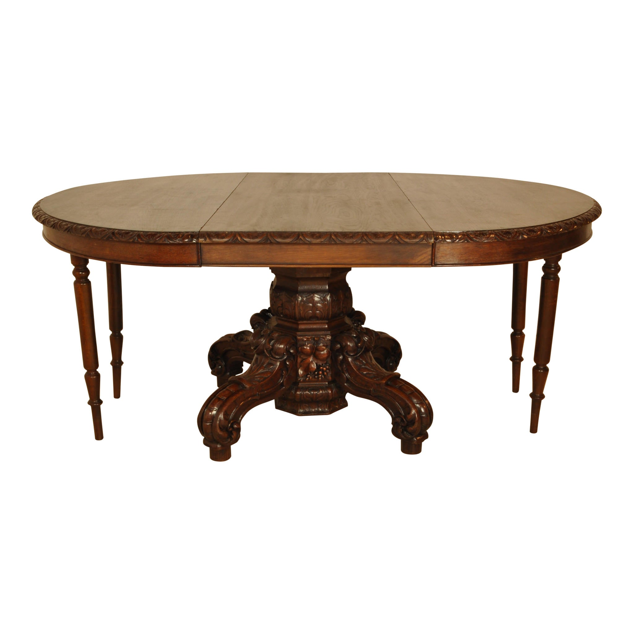 Oval Hunt Table with Leaf