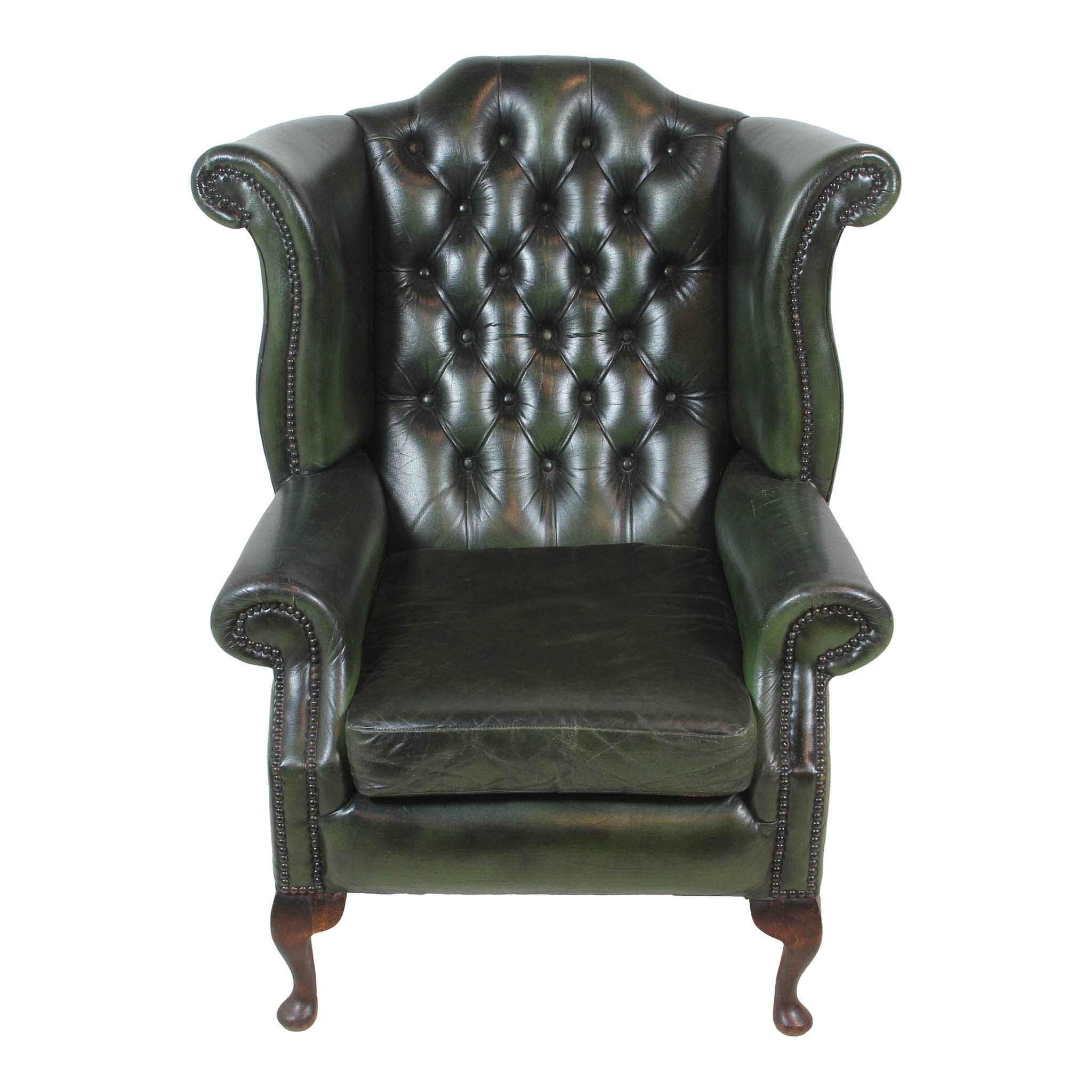 English Wing Back Chair