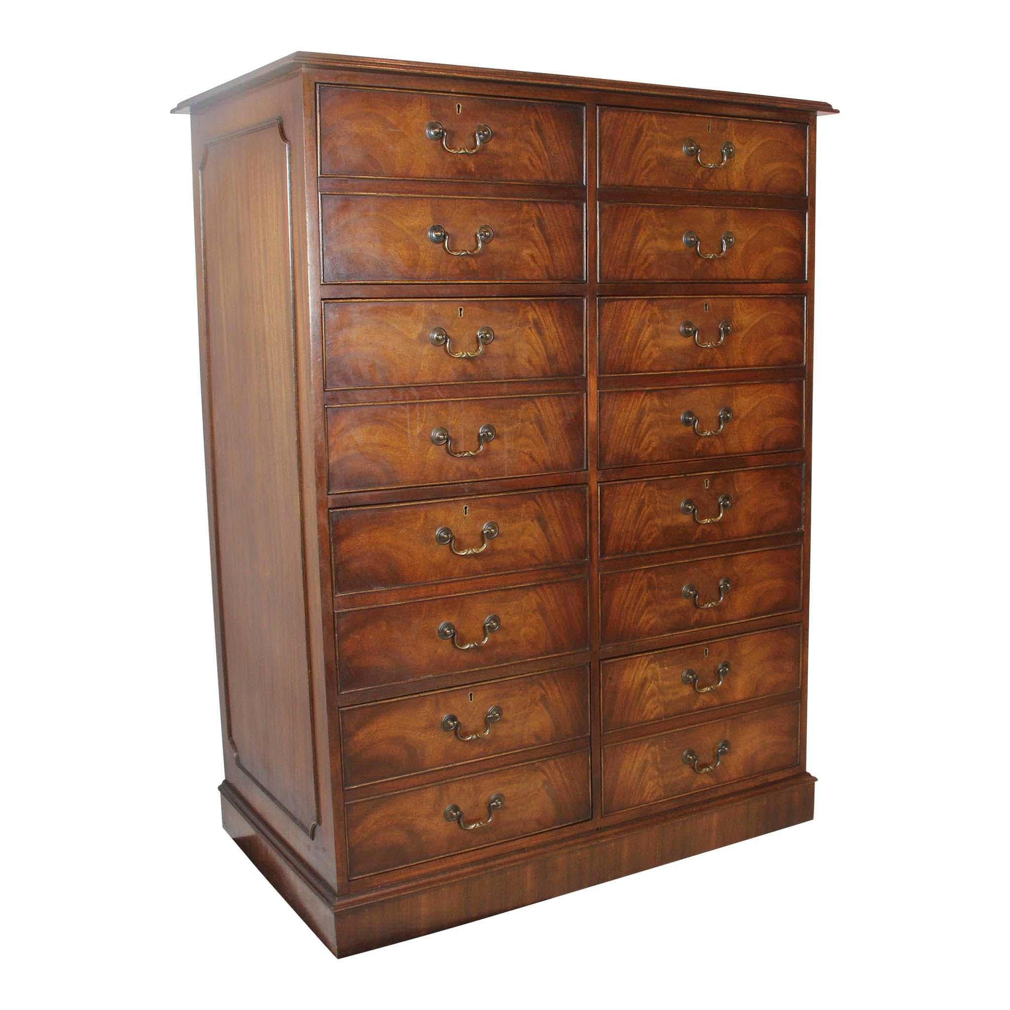 Eight Drawer File Cabinet