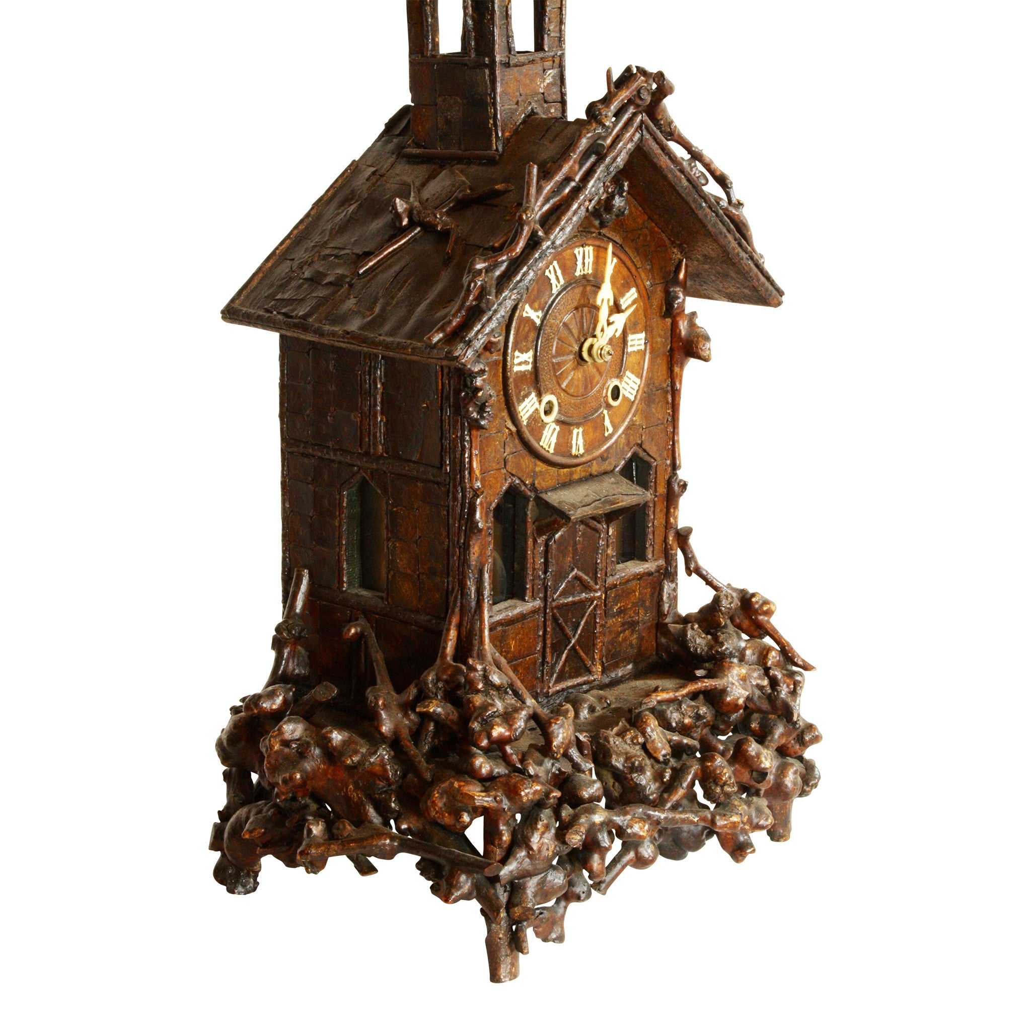 German Church Mantle Clock