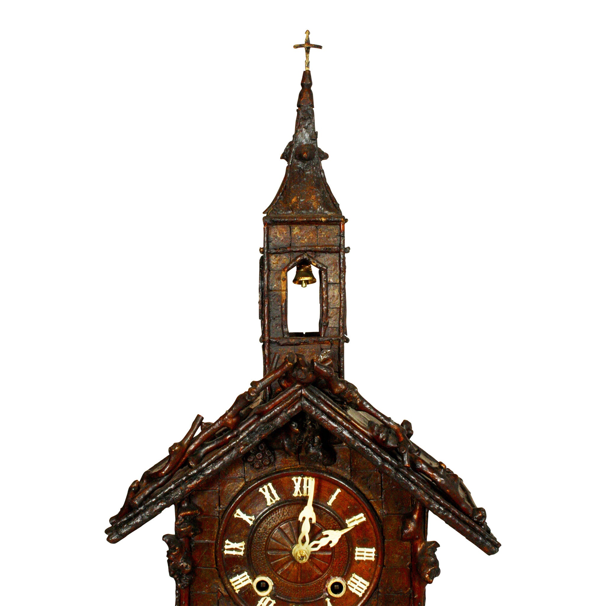 ski-country-antiques - German Church Mantle Clock