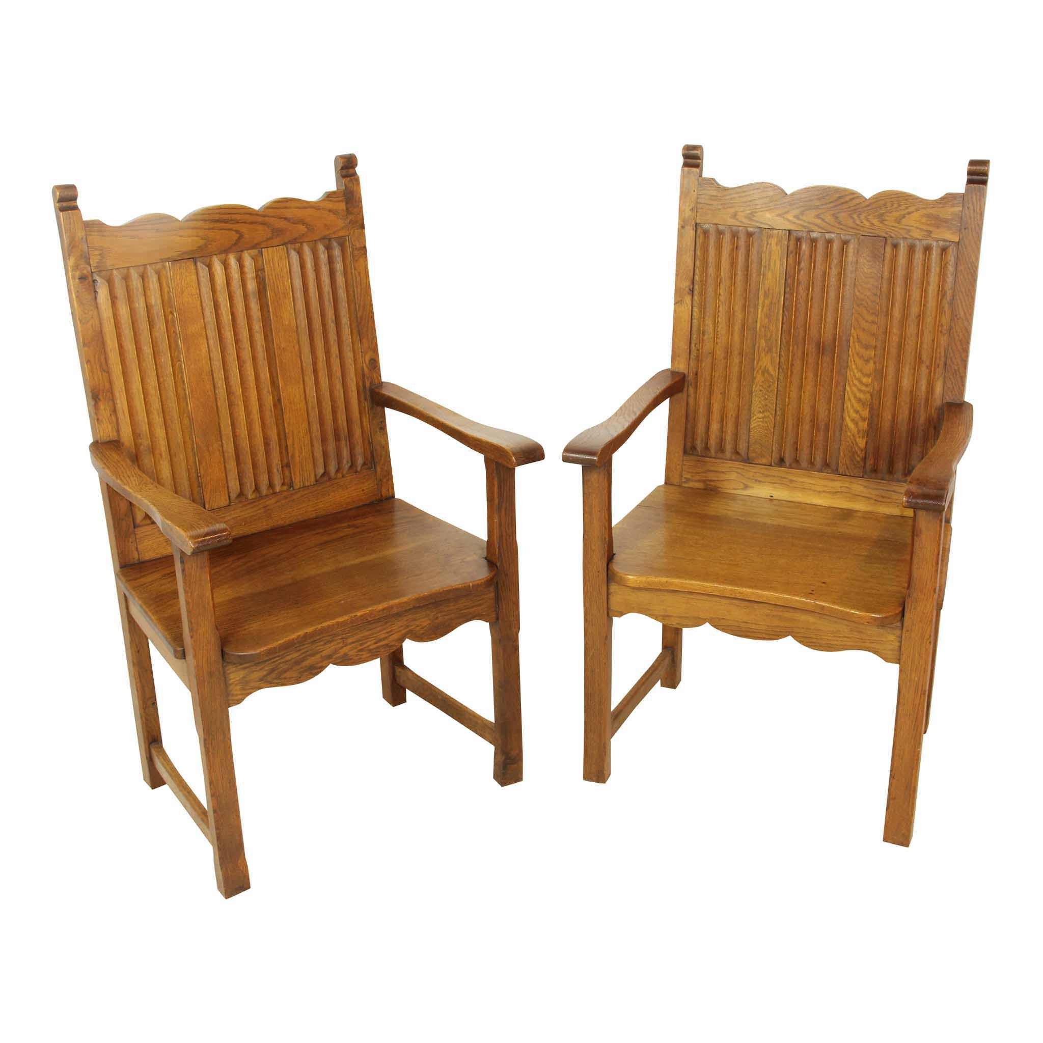 Gothic Armchairs Set of Two