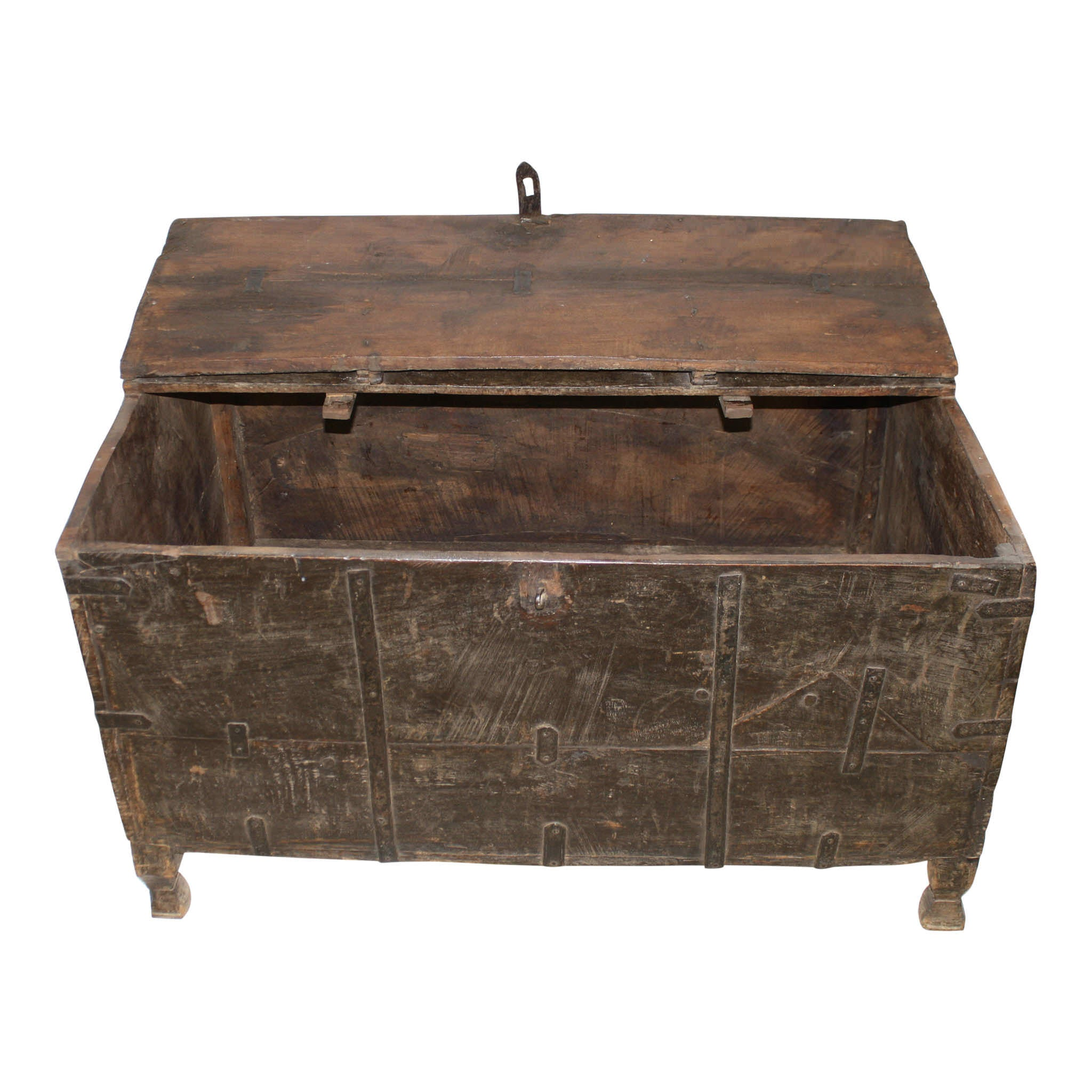 Trunk with Iron Accents