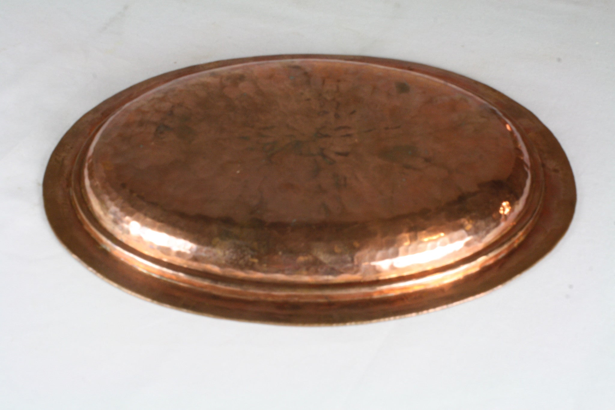 Copper Serving Platters/Set of 3