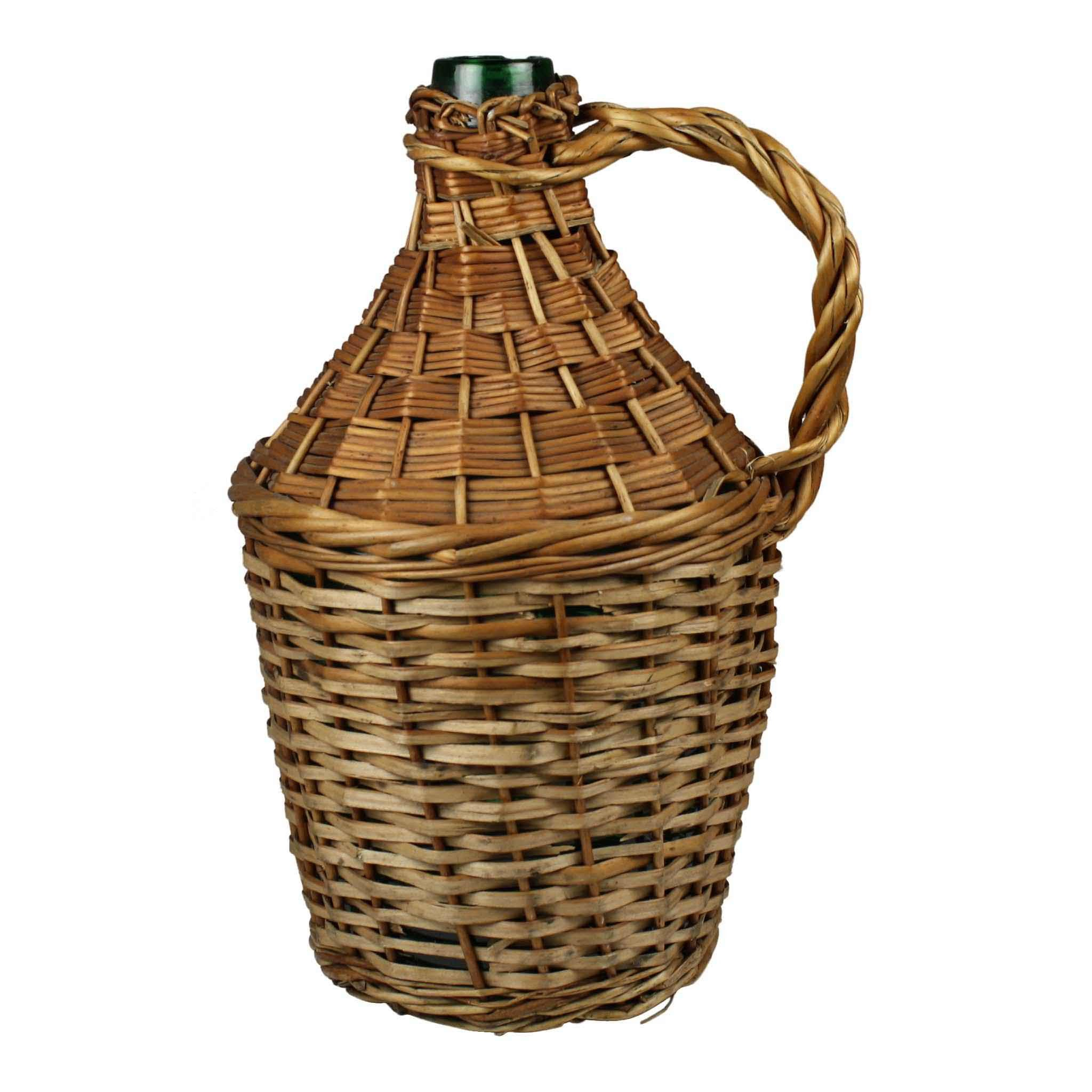 Wicker Wine Bottle (Small)
