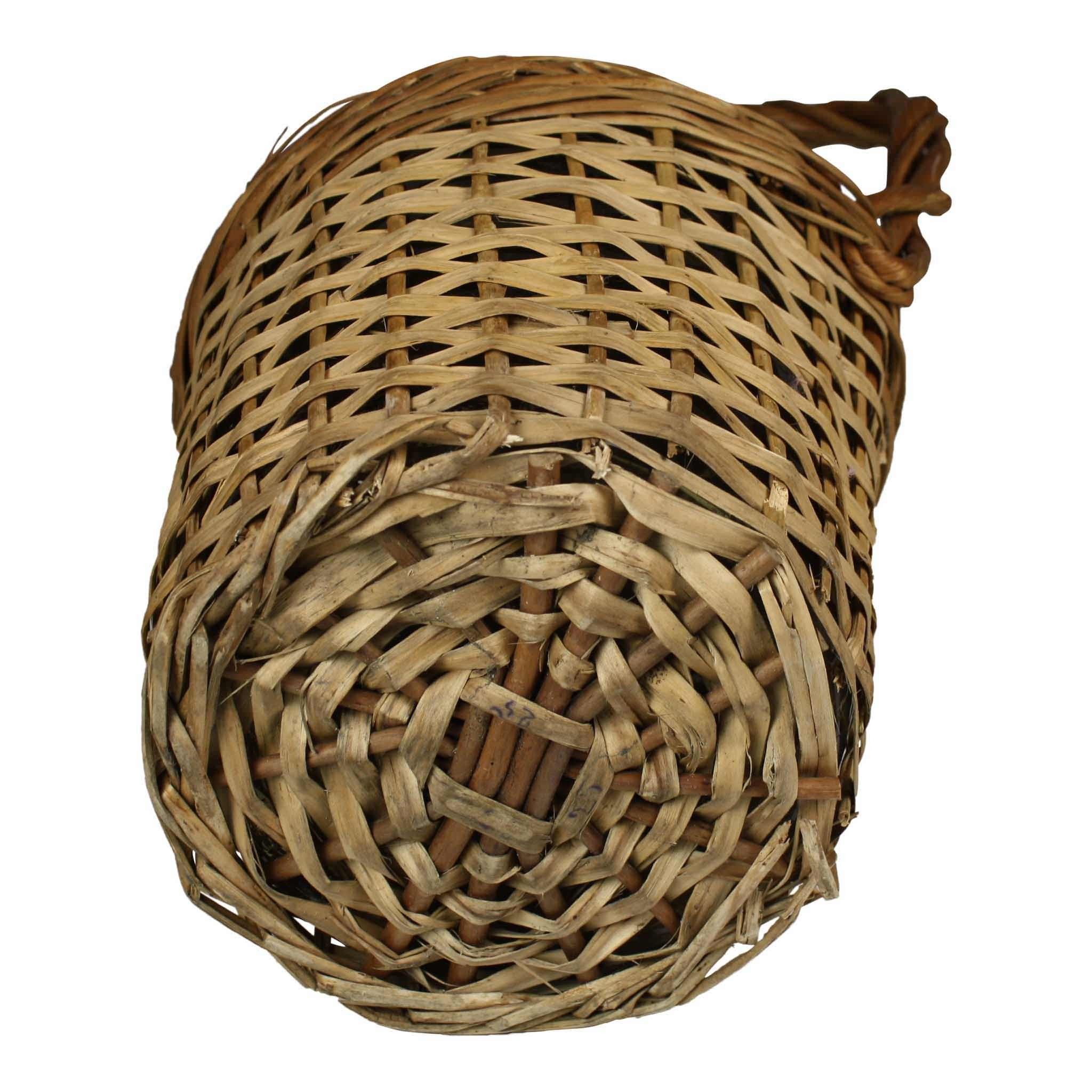 Wicker Wine Bottle (Medium)