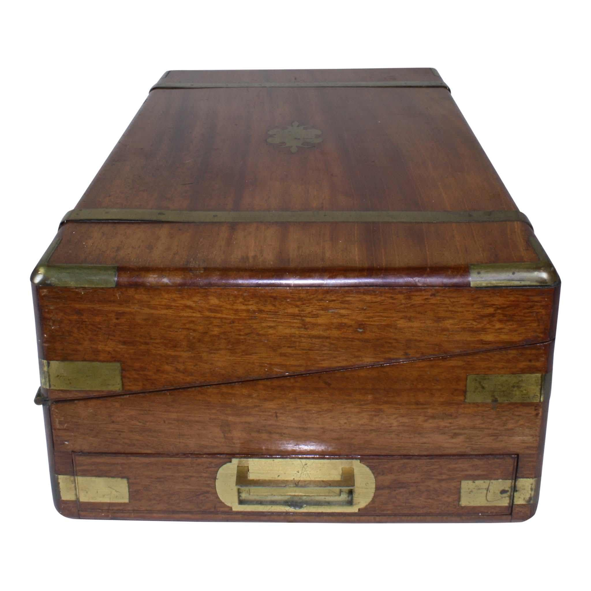 Mahogany Writing Box