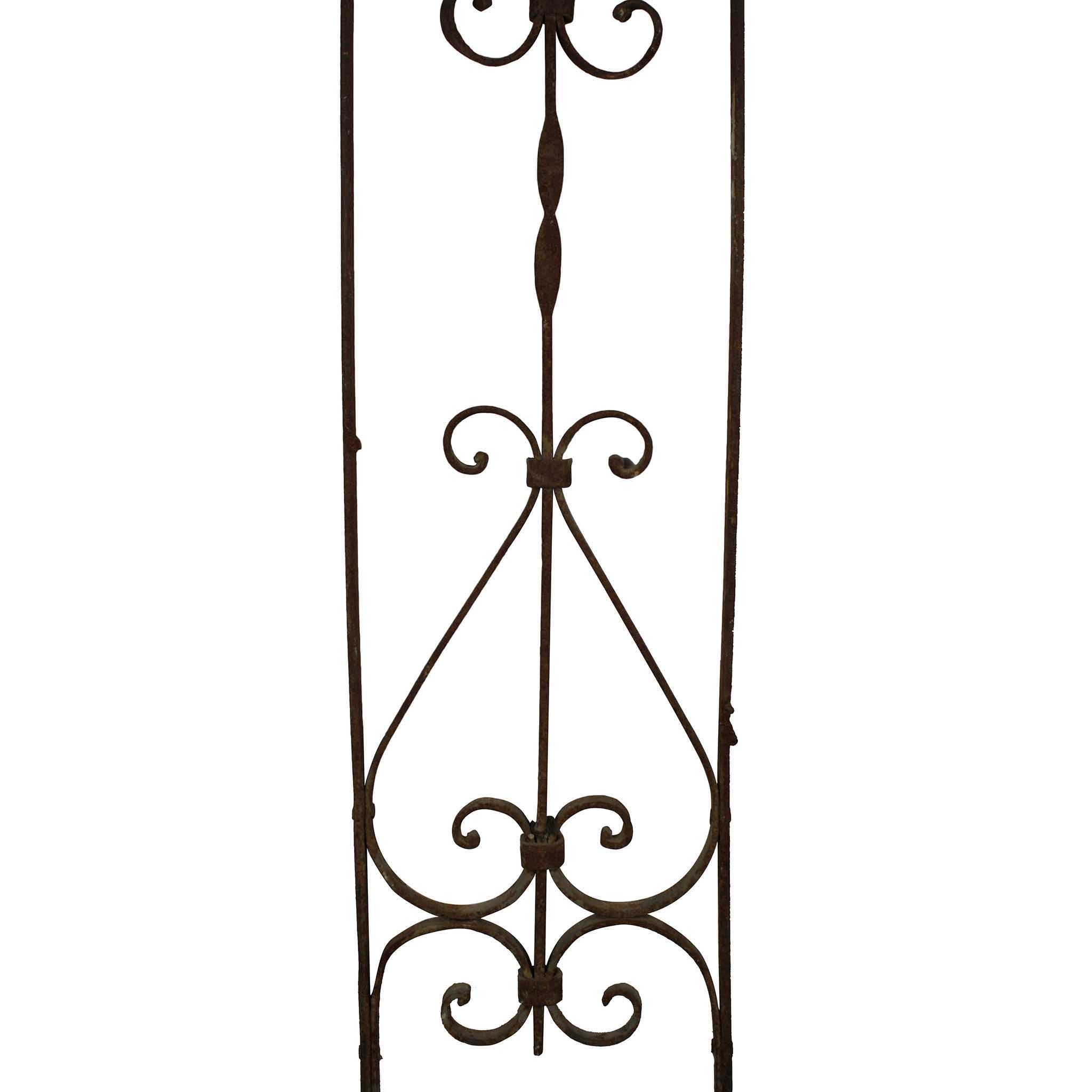 Arched Metal Wall Piece