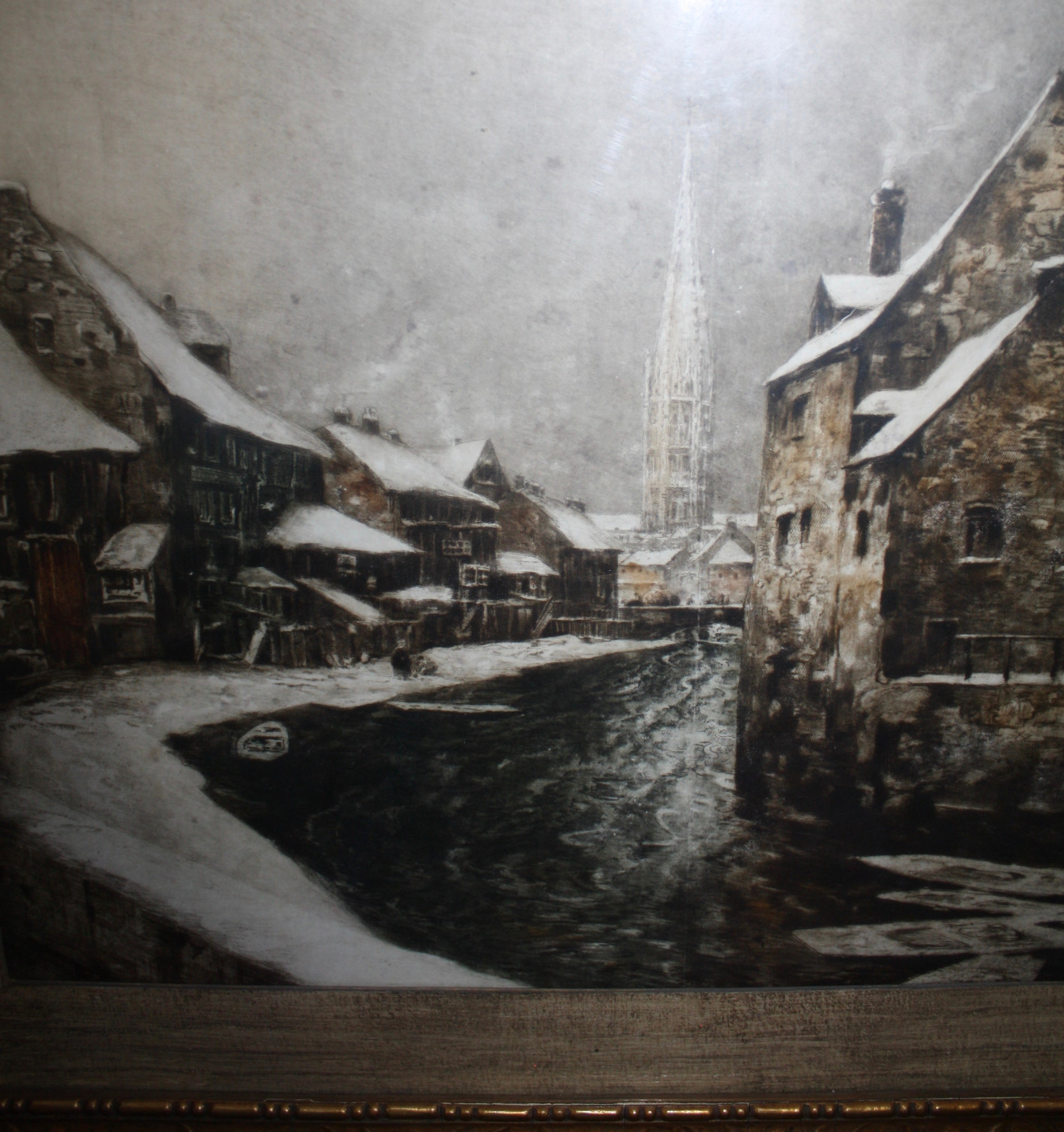 Dutch Canal Painting