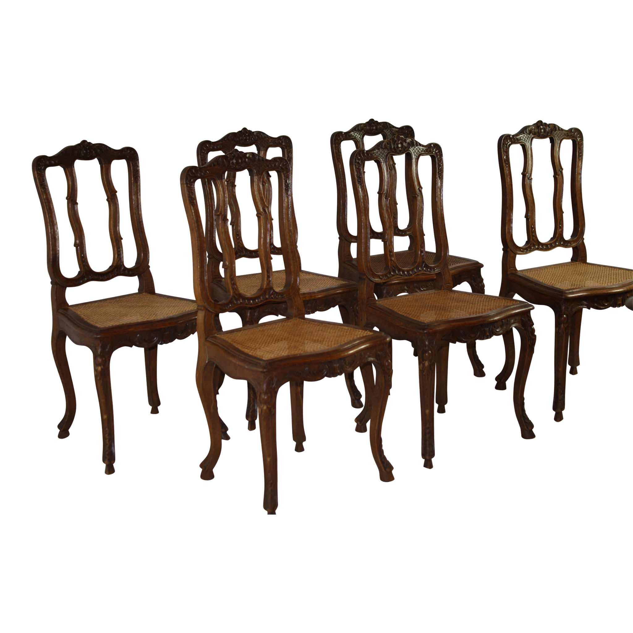 Louis XV 7 Piece Dining Room Set