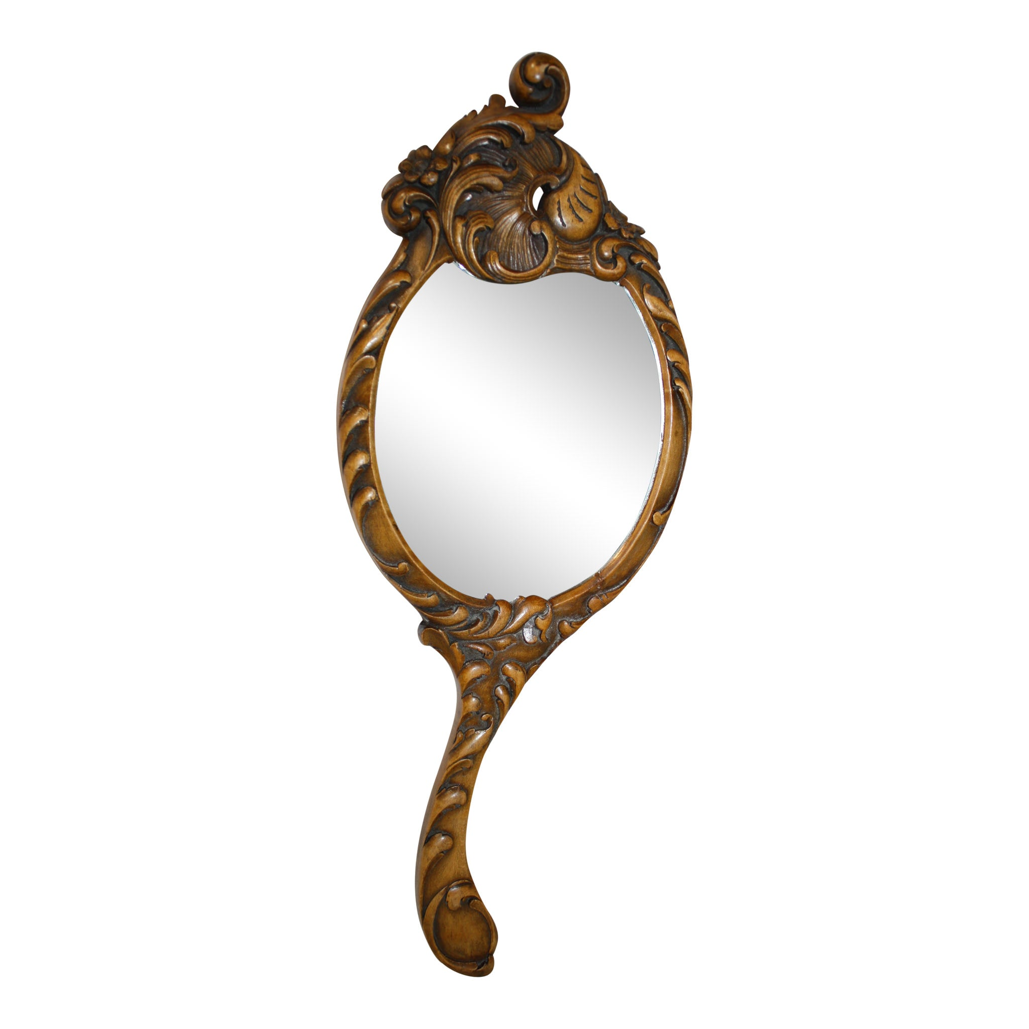 Louis XV Hand Mirror