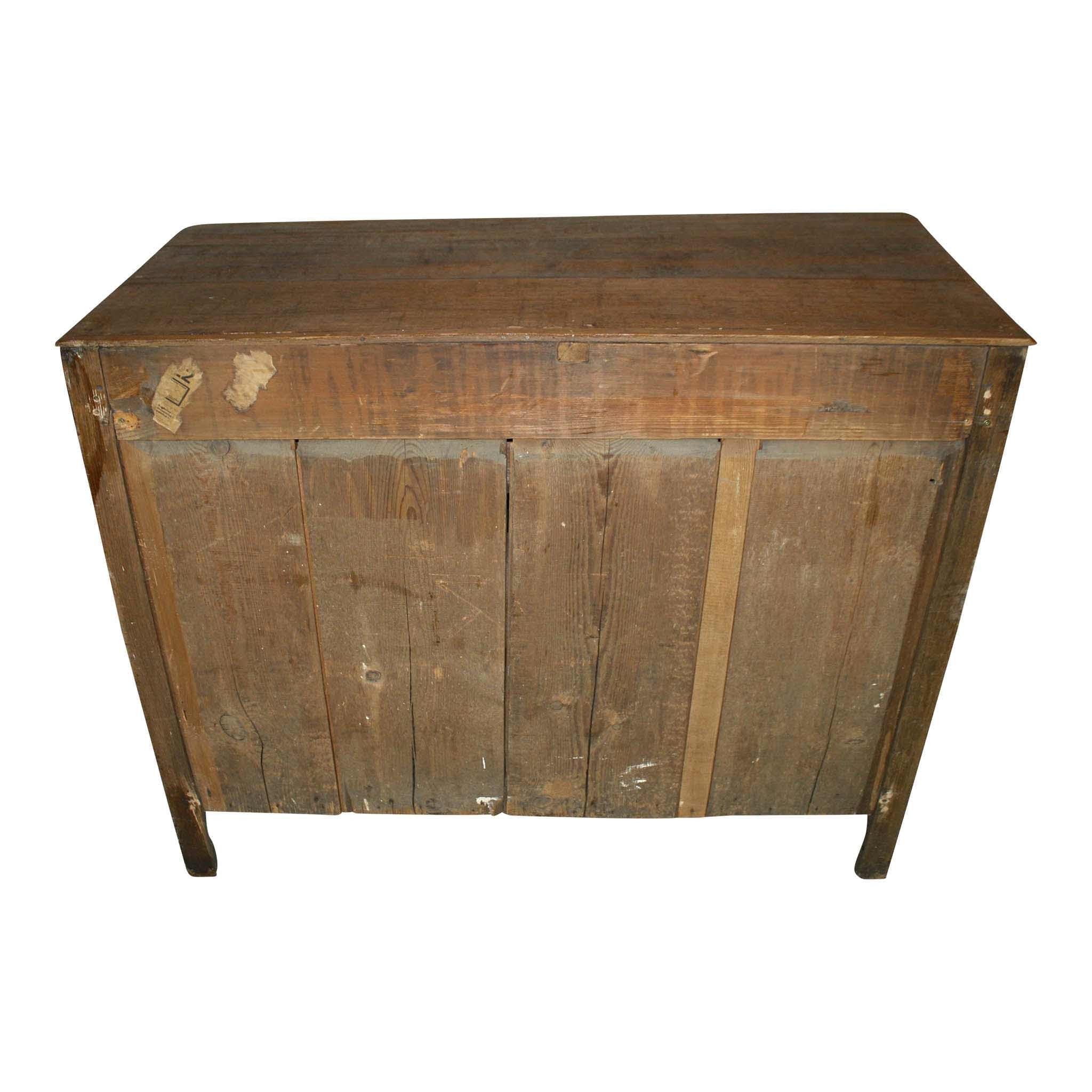 Three Drawer Commode