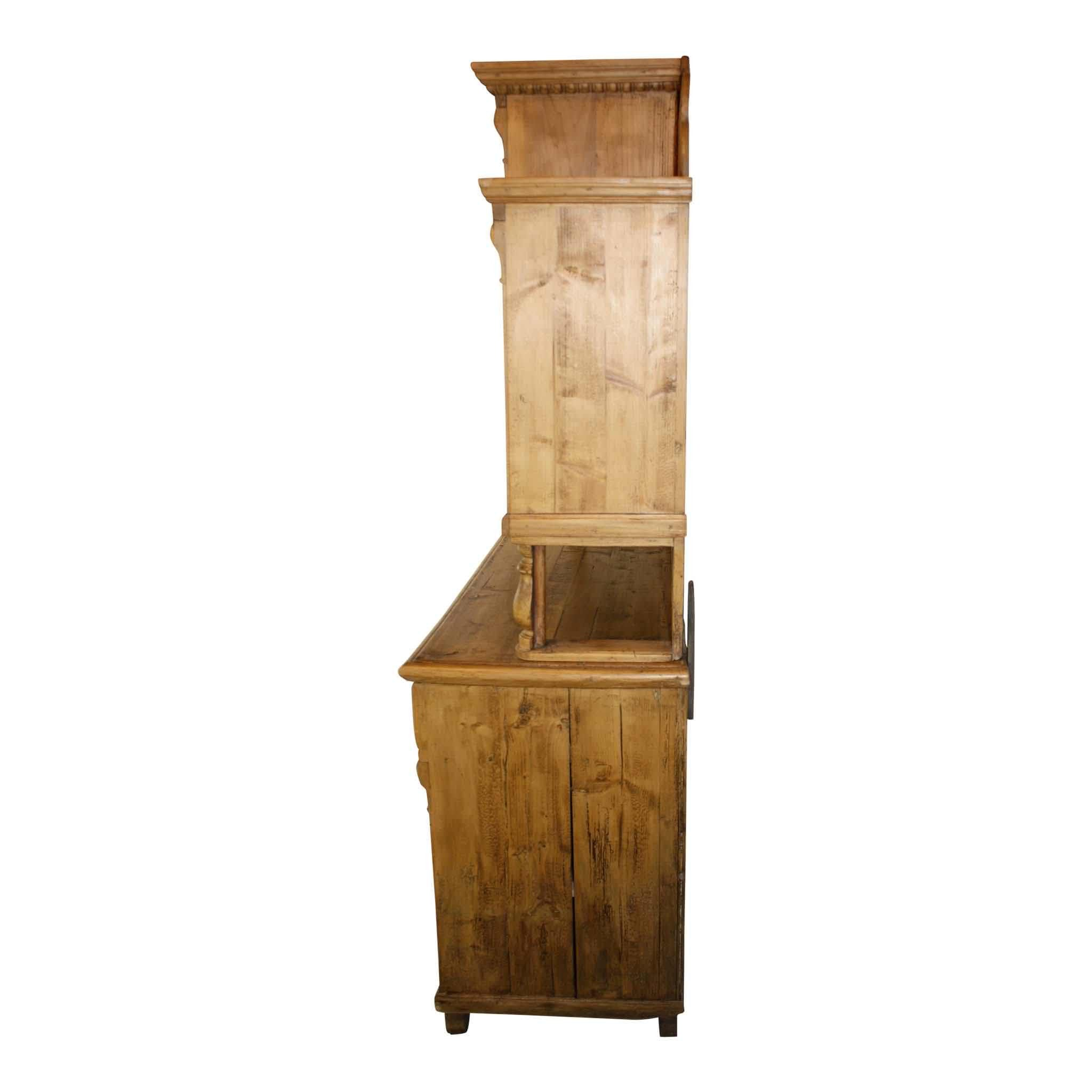 German Pine Hutch
