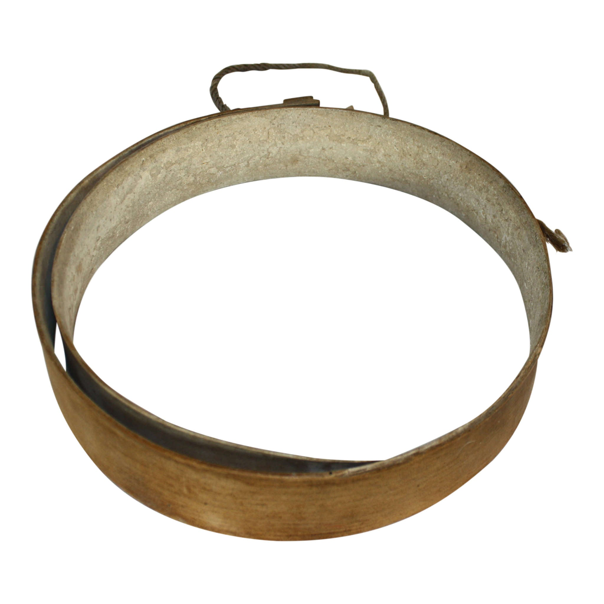 Swiss Wooden Ring Cheese Mold