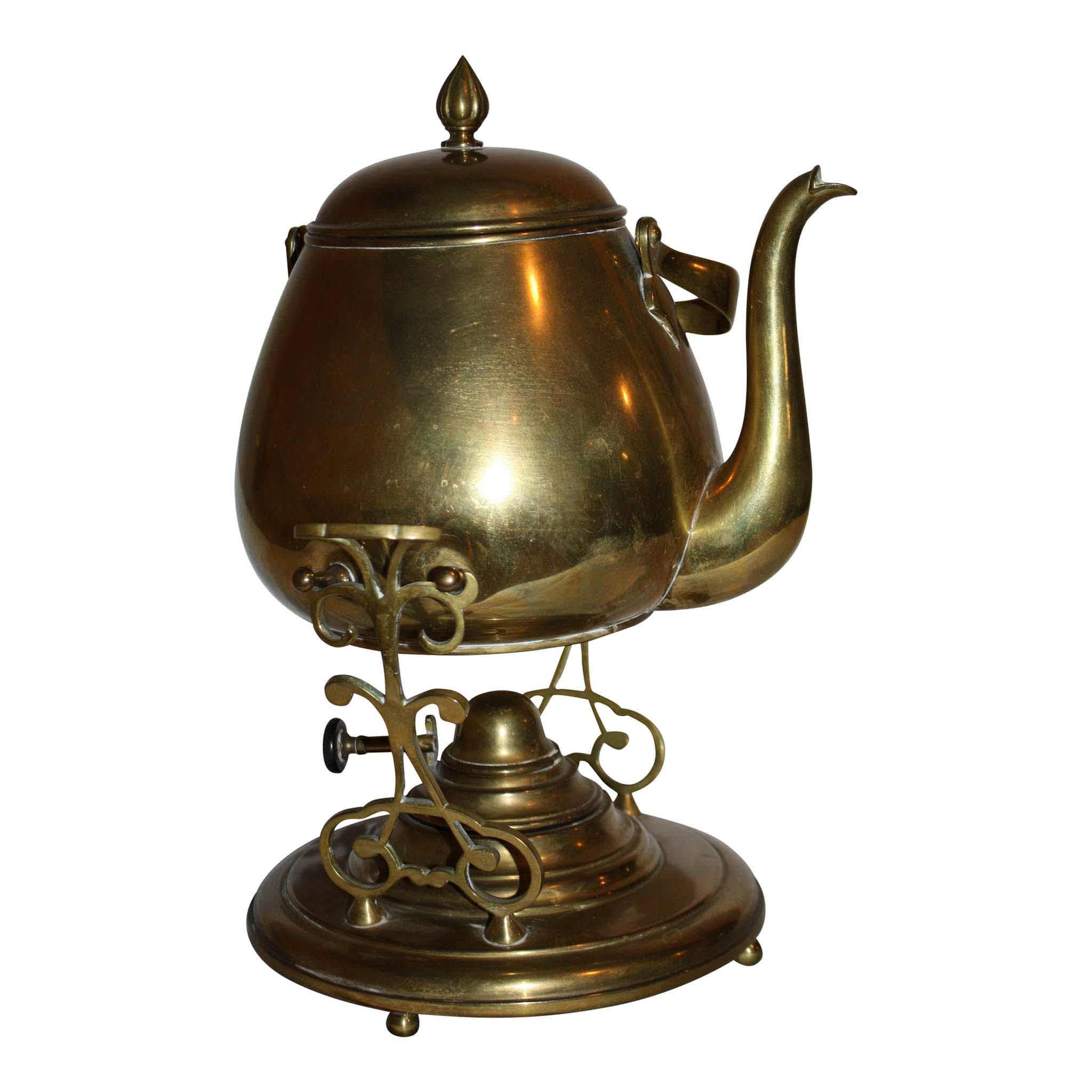 Coffee Pot on Stand