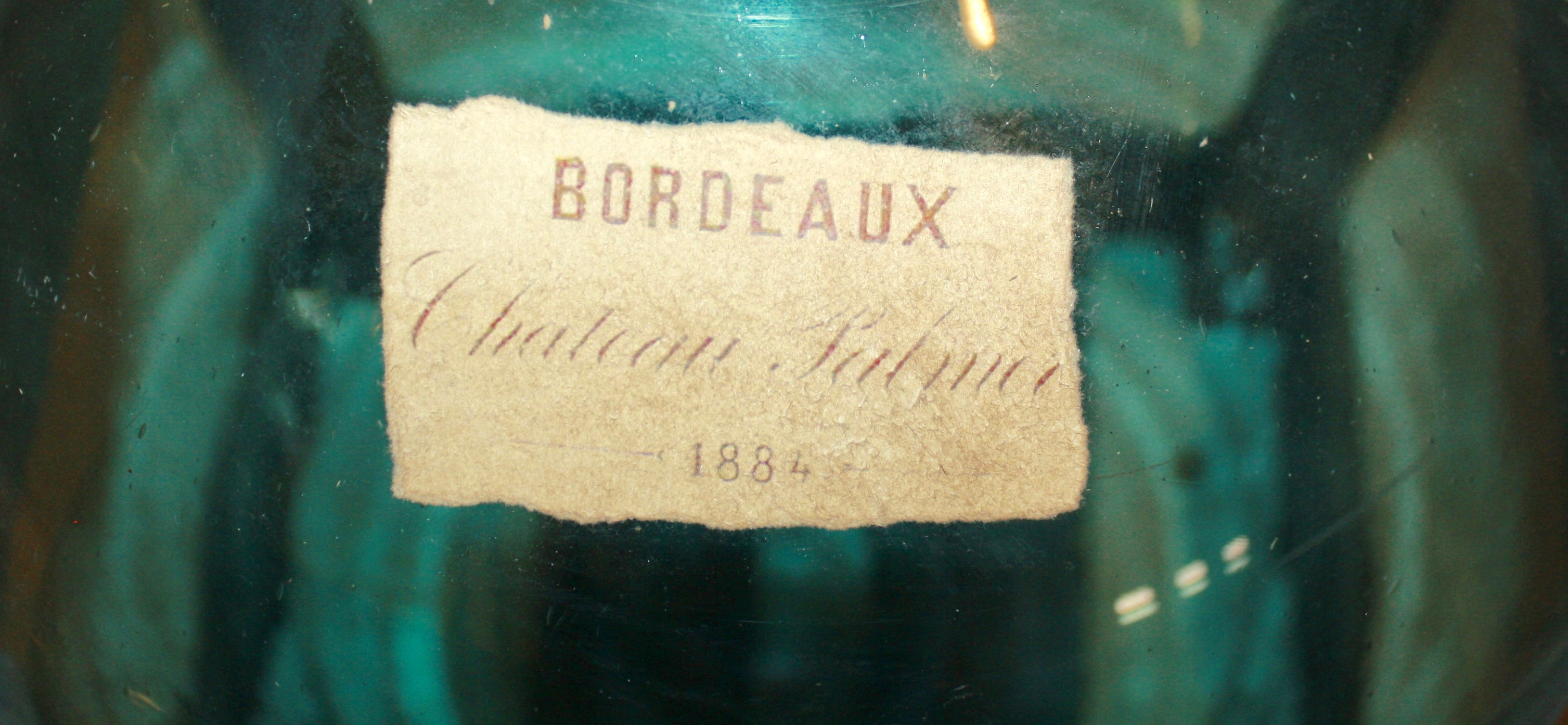 French Bordeaux Demijohn in Crate