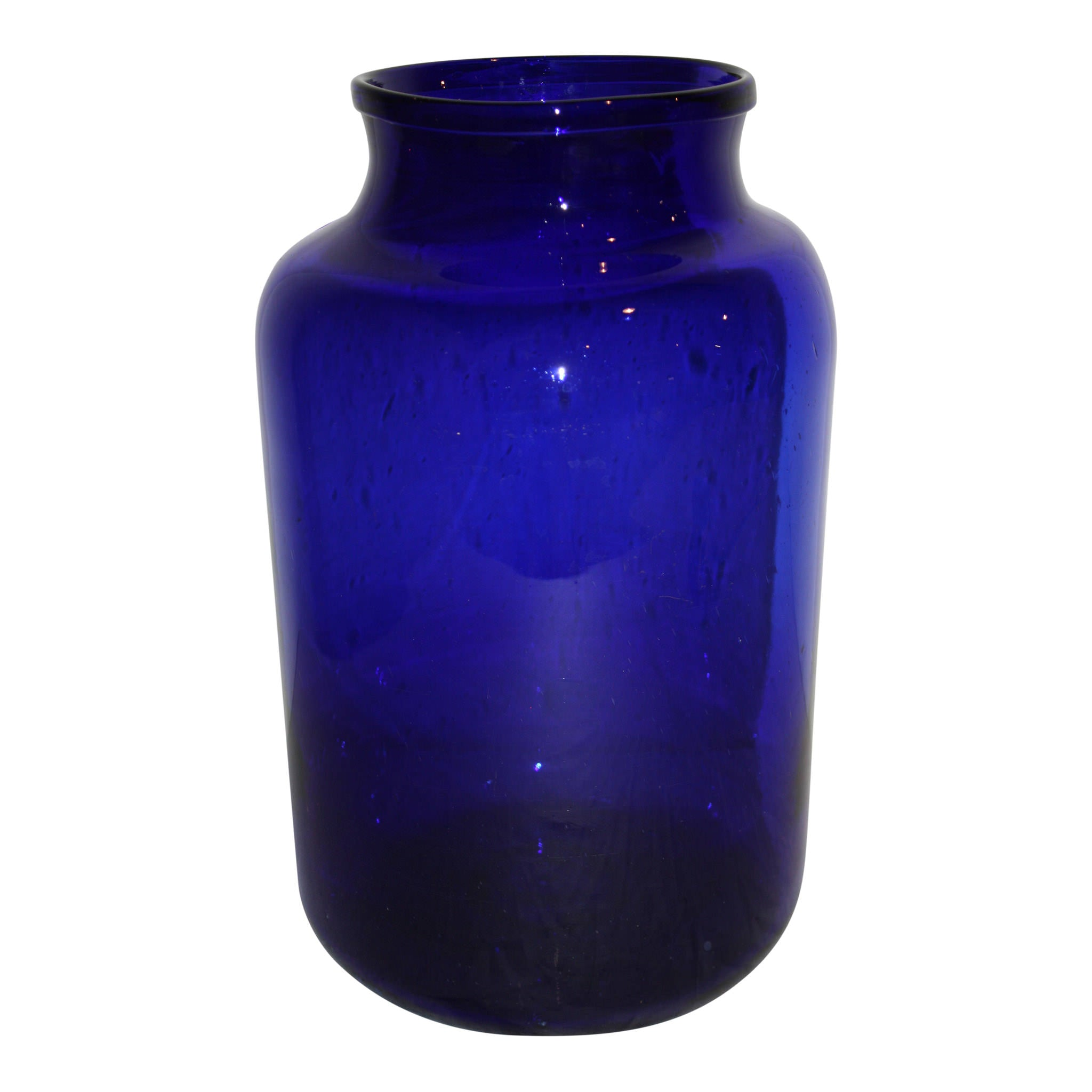 Cobalt Blue Candy Jar