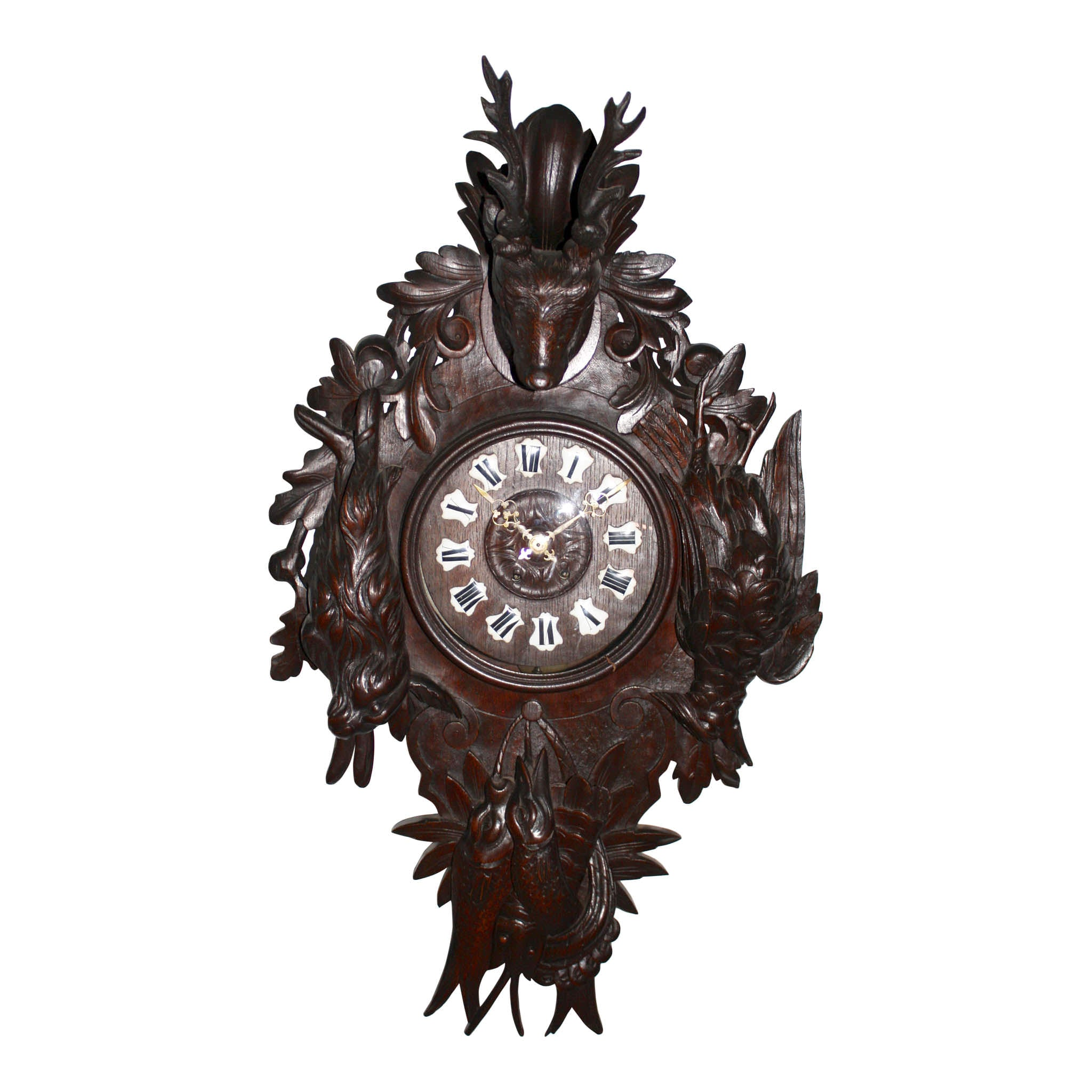 German Hunt Clock
