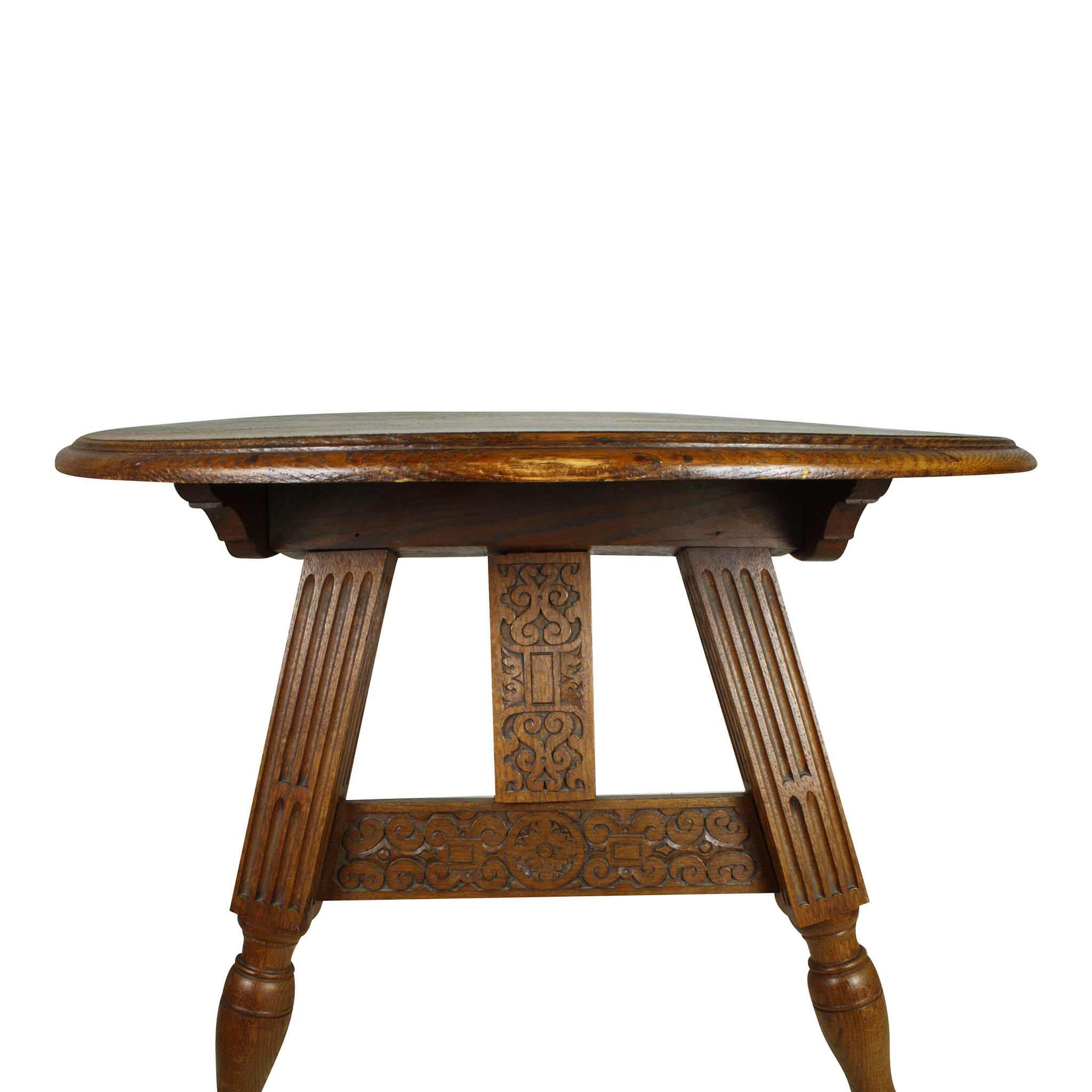 Oak Tilt Top Table