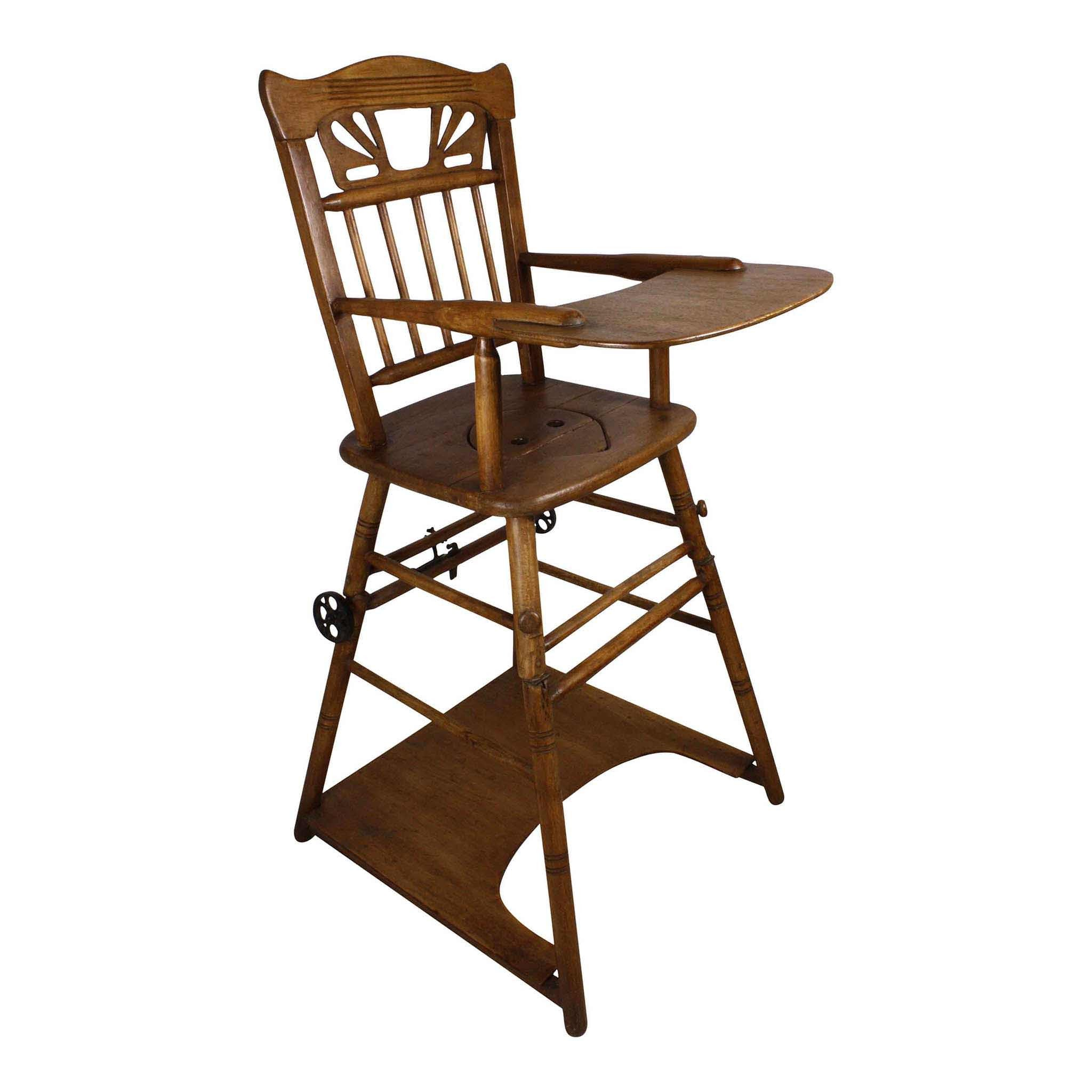 Arts and Crafts High Chair