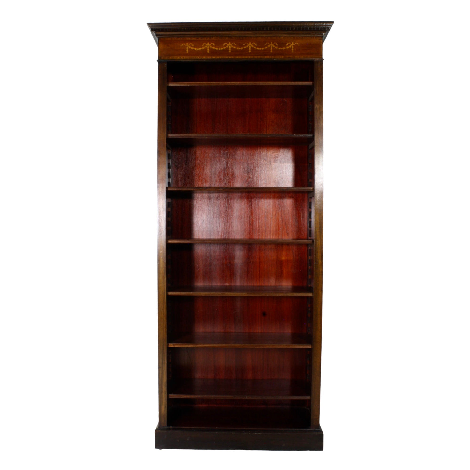 English Mahogany Bookcase
