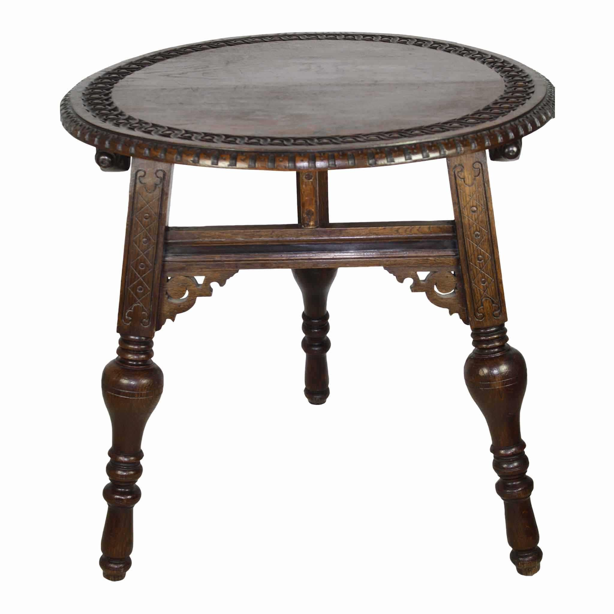 Dutch Tilt Top Table