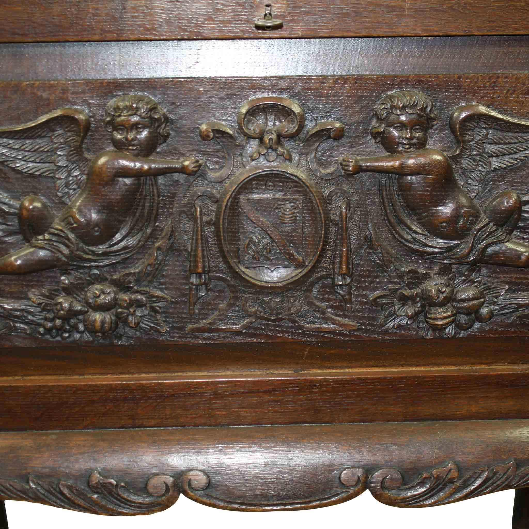 French Sewing Chest