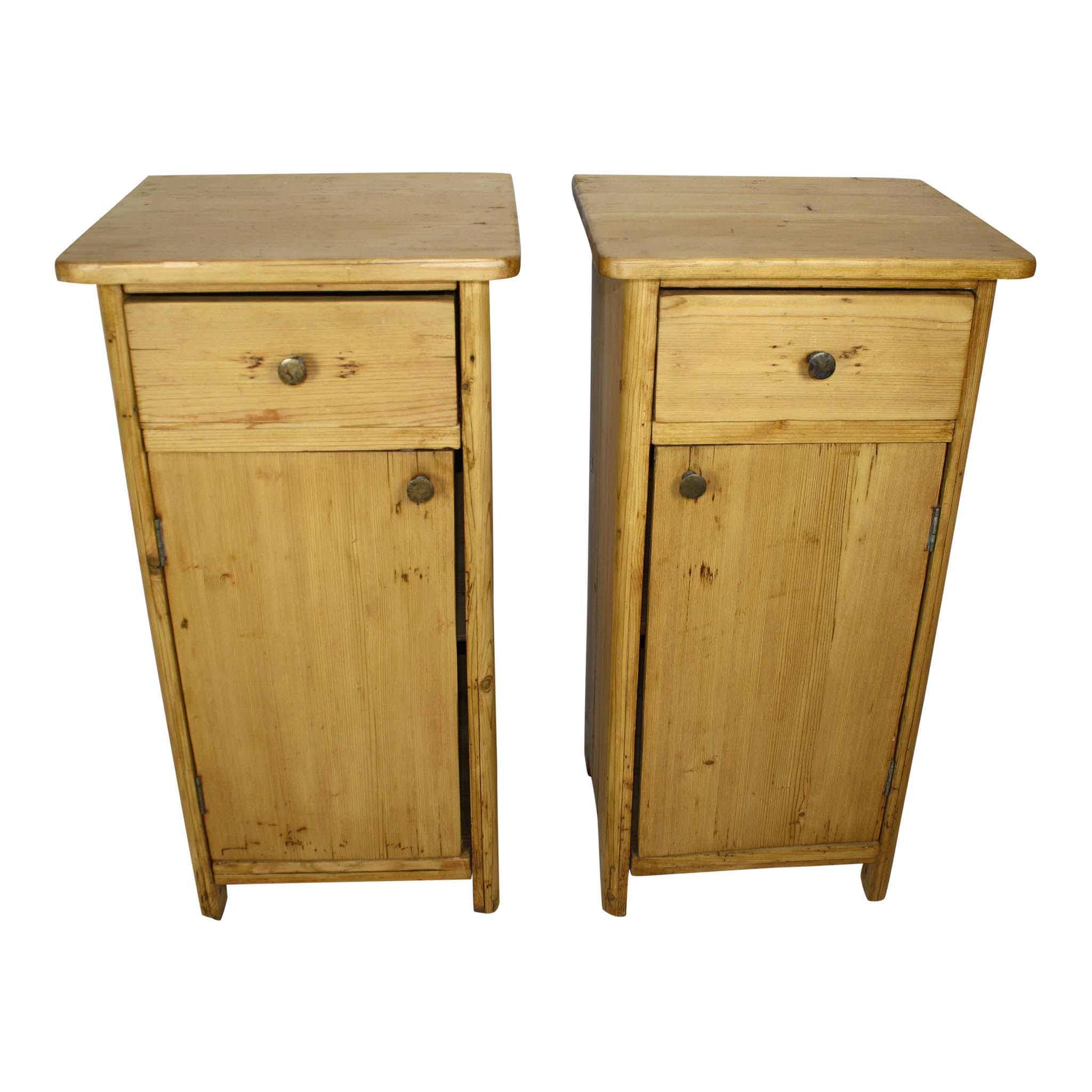 Pine Nightstands Set/2